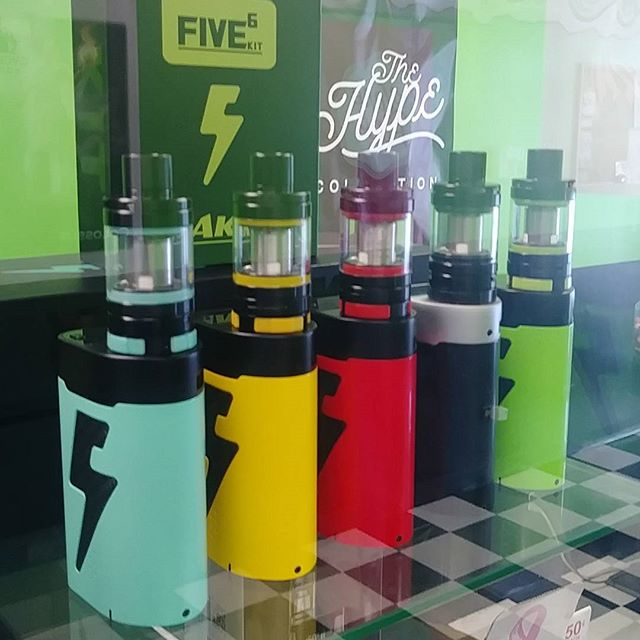 All the pretty ladies, lined up in a row.  The Kanger Five6 has touched down at Knoxville's Premier Vape Shop.  #VapeOn #VapeStrong #VapeProud #Kanger #Five6