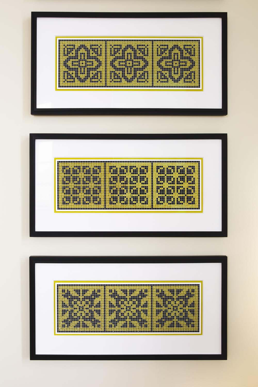 Antique Tiles Large No. 4, No. 5 and No. 6