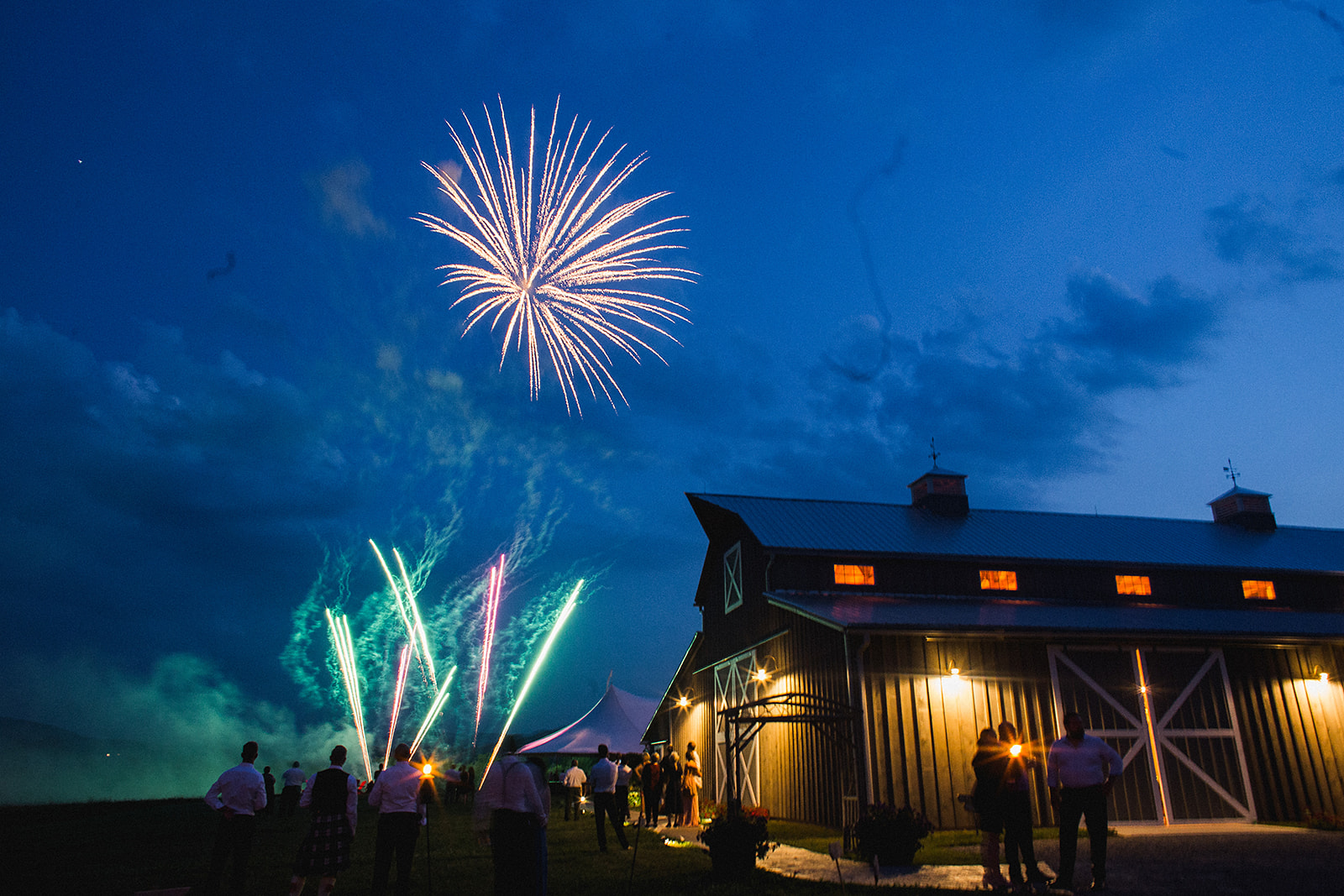 wedding-fireworks-Santore-Adirondacks