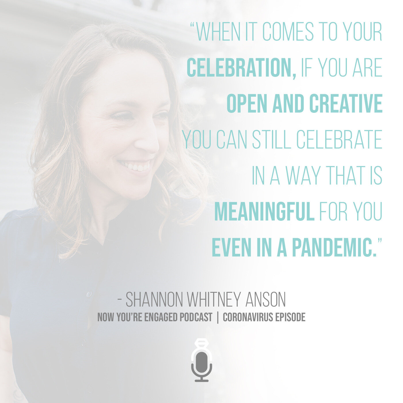 Shannon Whitney Anson wedding advice during the pandemic