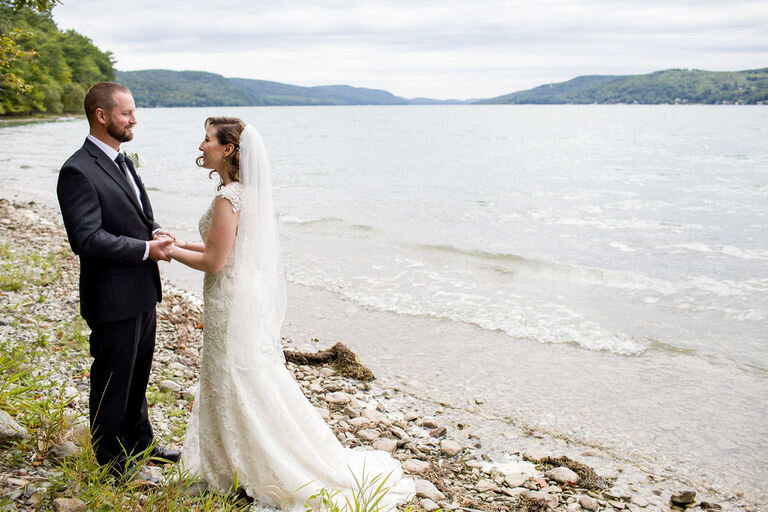 Lakeside Cooperstown Elopement Planned by Wedding Planning Plus 1