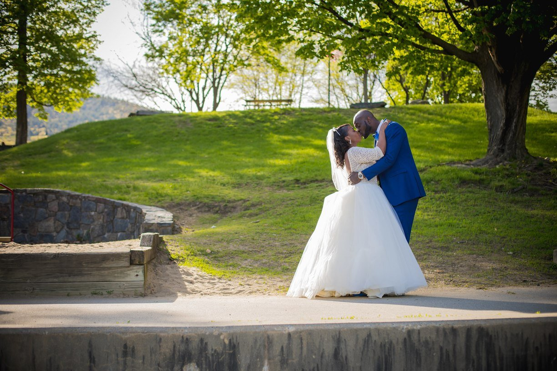 Courtyard Lake George wedding coordinated by Wedding Planning Plus 1