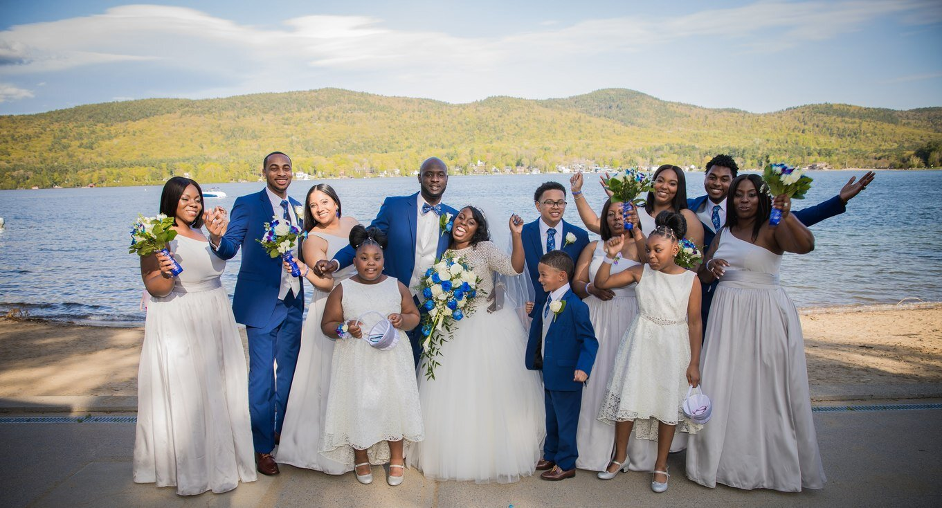 Lake George Courtyard Marriott wedding coordinated by Wedding Planning Plus 12