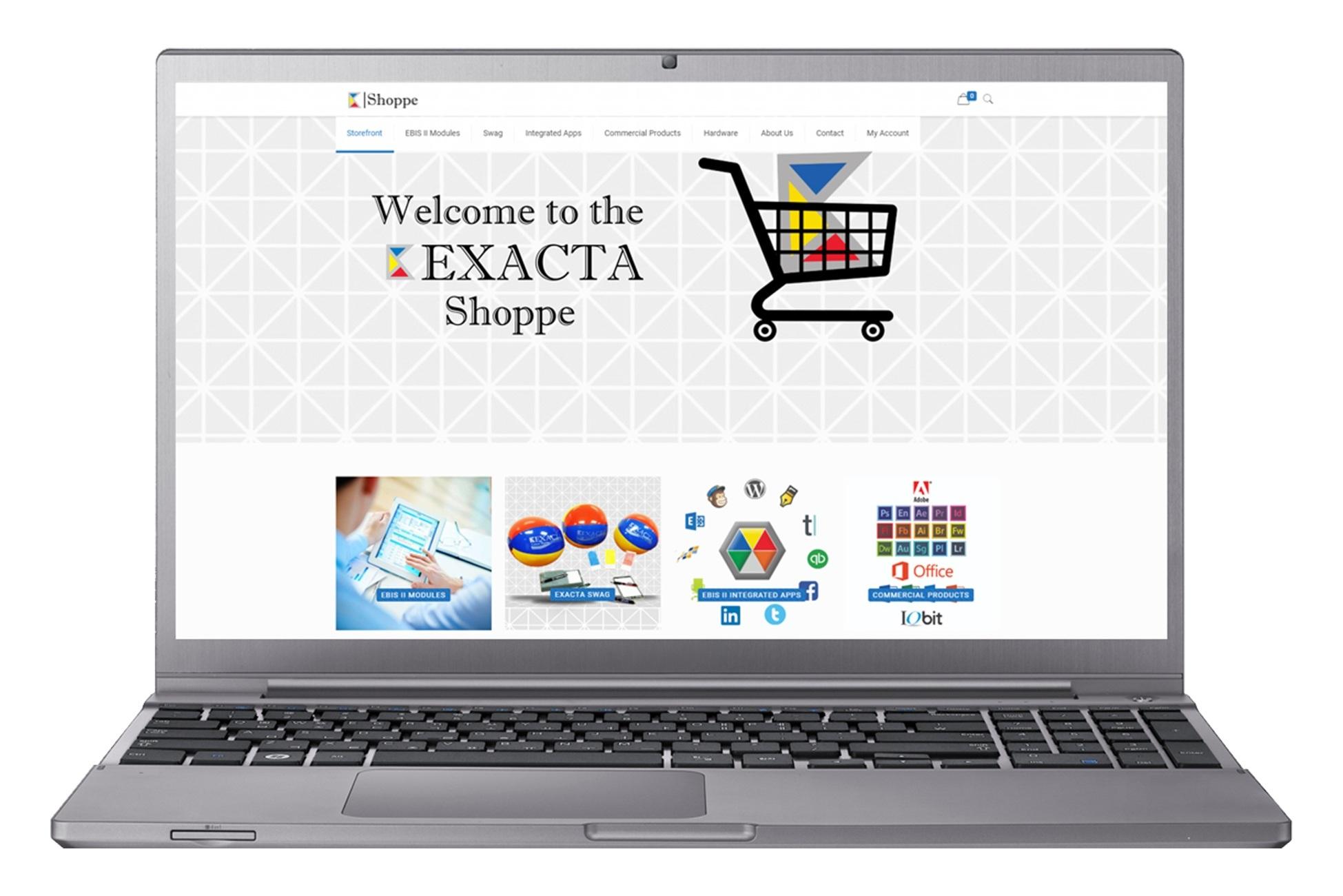 E-commerce site for EXACTA Corporation