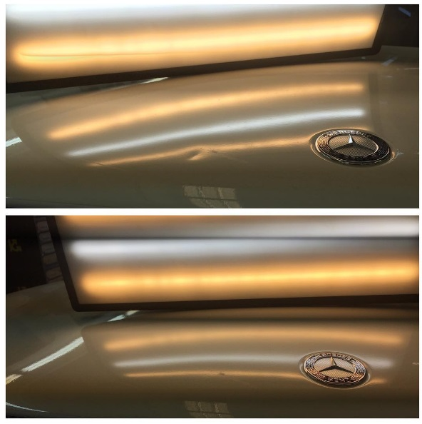 Before and After Mercedes Hood.jpg