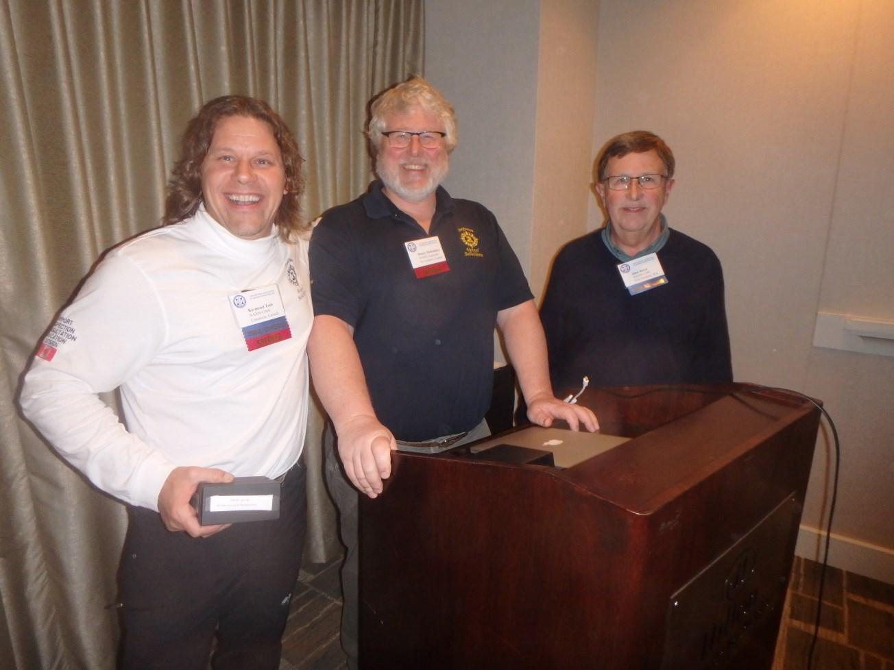 Speakers Ray Toth, Dan McKindsey & NAMS Regional VP John Baird