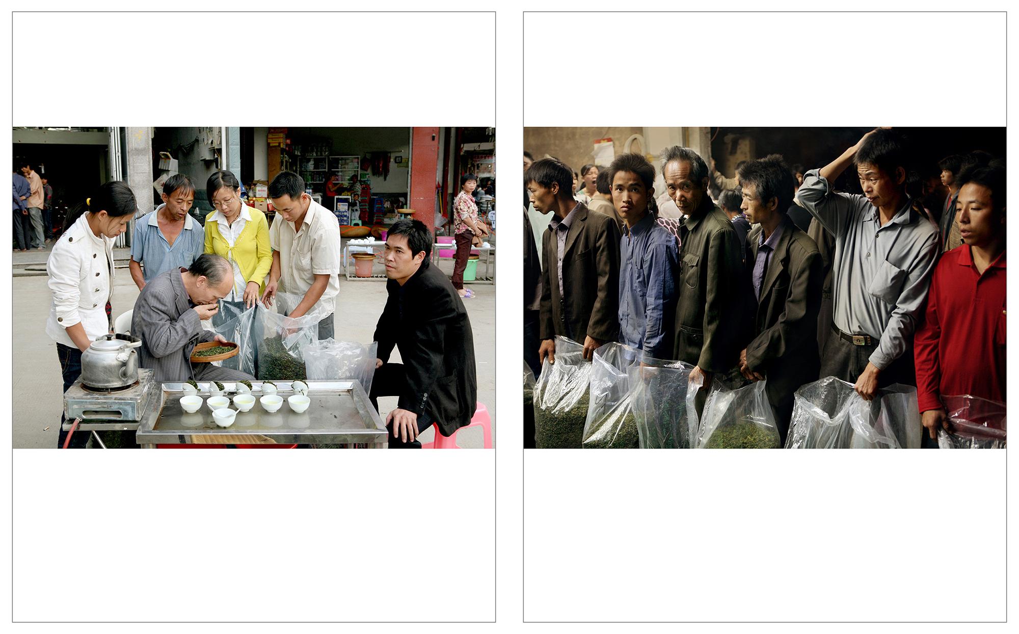 Tea Merchant - Gande, Fujian Province    info  •  Tea Sellers - Gande, Fujian Province  info