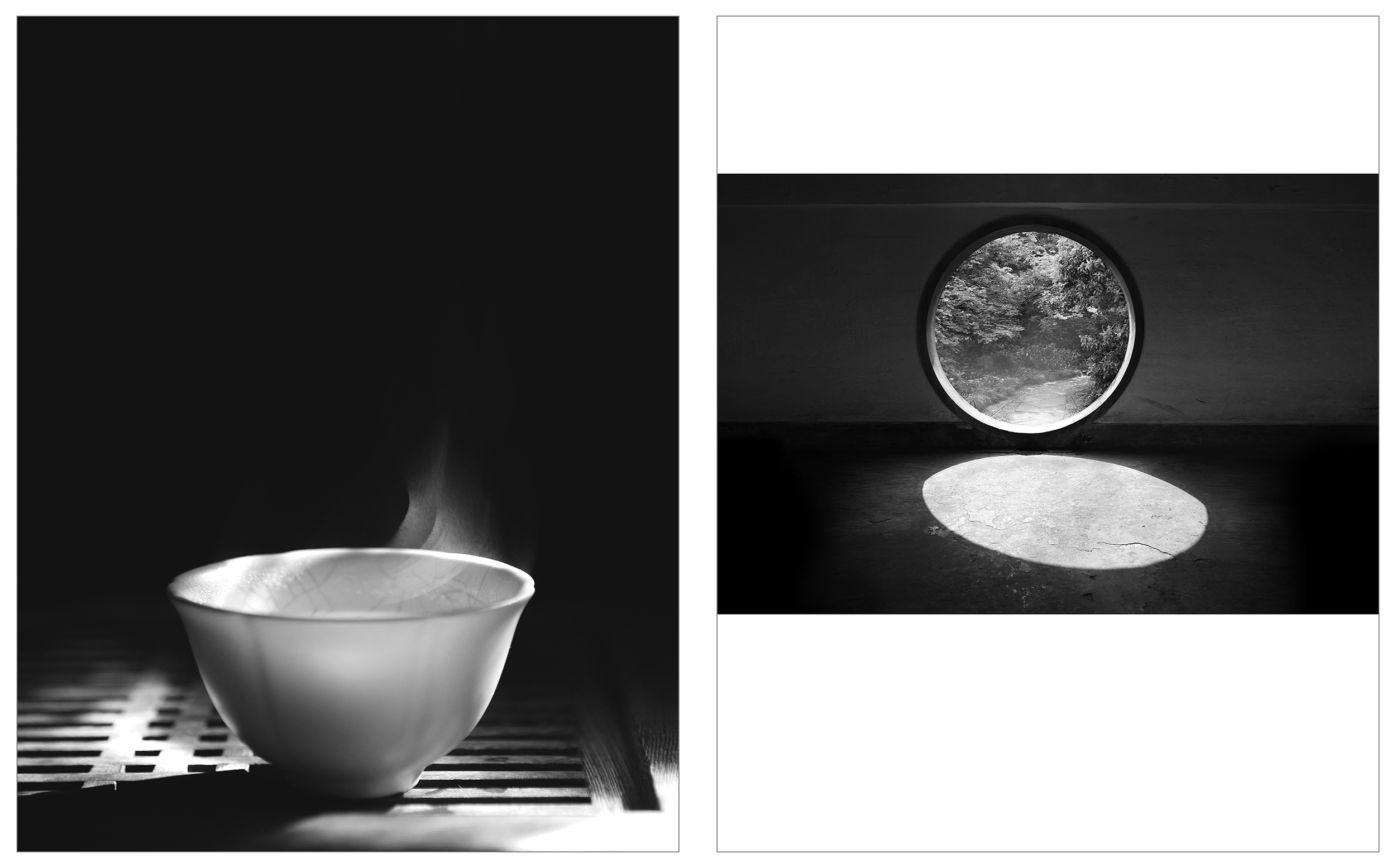 an empty cup still breathes    info  •   moon gate - Hangzhou, Zhejiang Province  info