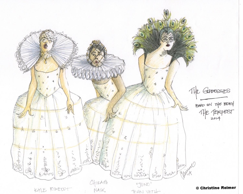 """""""Goddesses""""  The Tempest, 2014"""