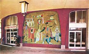 Mosaic at Villa Roma Hotel