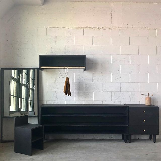 Custom furniture for a walk-in closet.  #woodworking #cabinetry #carpentry #whiteoak #wood #wooddesign #minimalism #minimadesign #customfurniture #nycdesigner #woodturning #lathe #maker #brooklyn #local #localmade #brooklynmade #diy #mirror #modernmirror #custom mirror #oak #lathe #woodvase #wooddecor #decor #woodobject #valchromat #customcabinetry