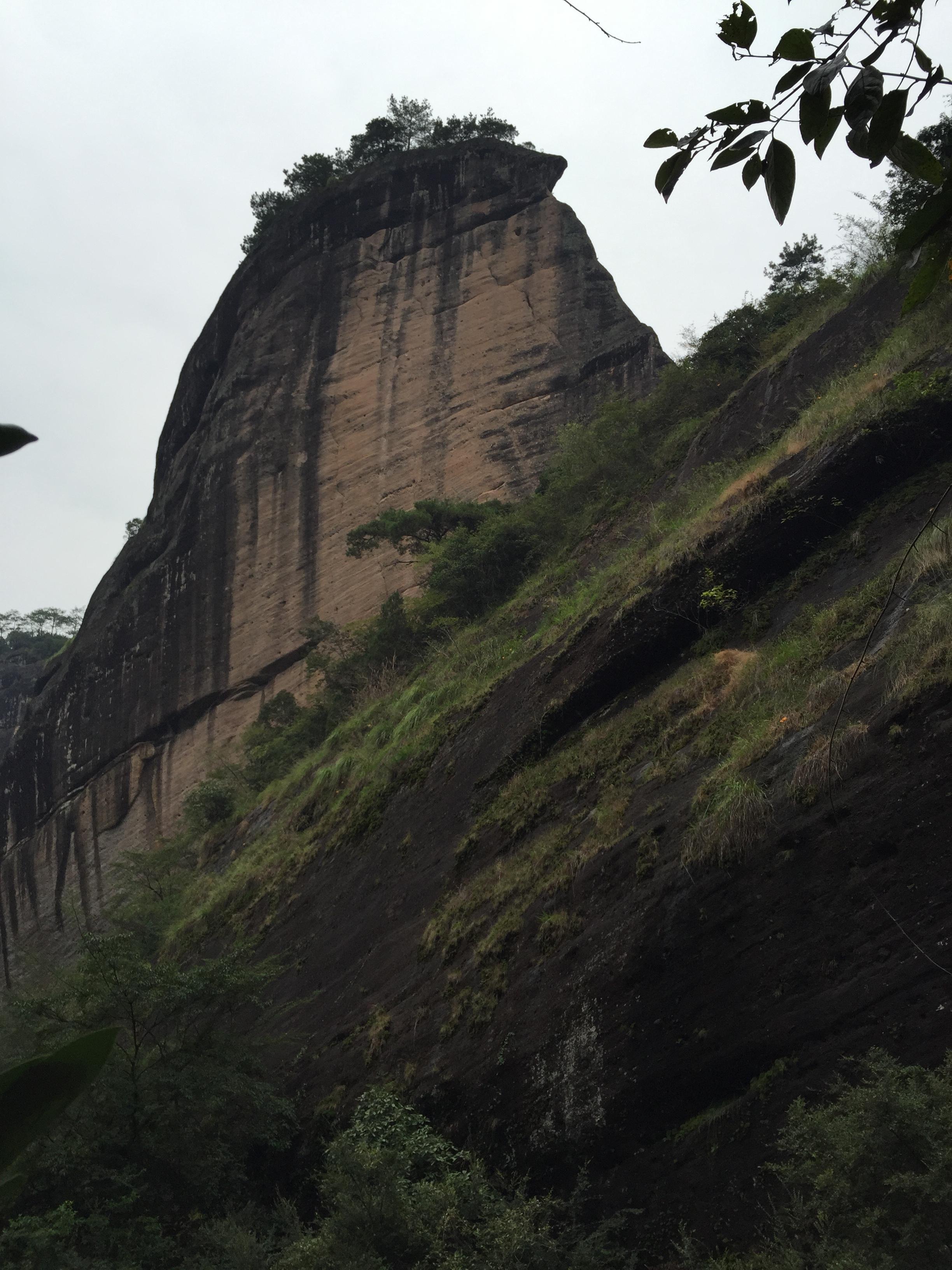 Wuyi Mountain. Photo taken from our Sept 2015 visit.
