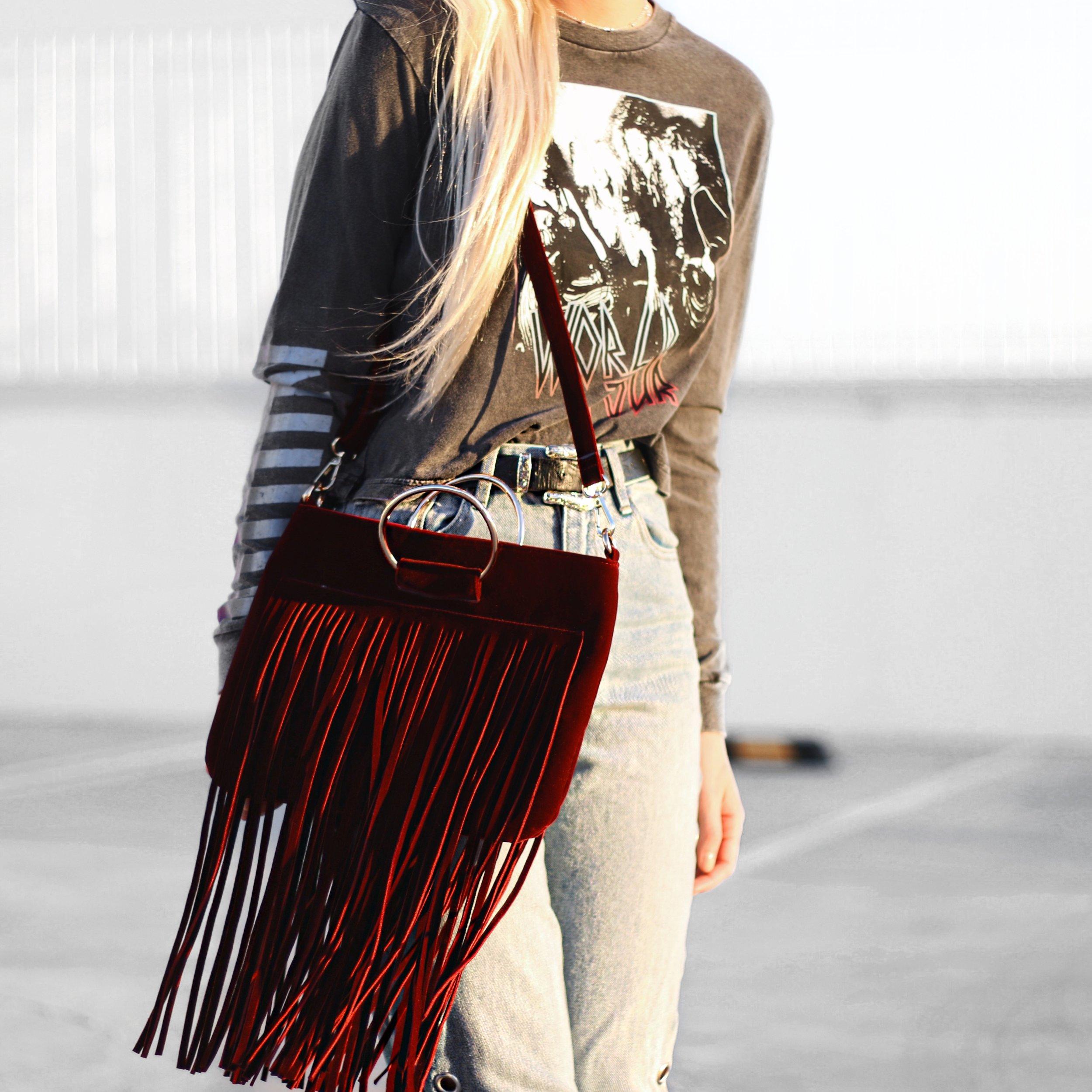 Etelet Jeans and Colette Bag