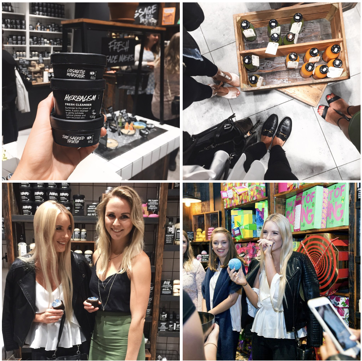 Lush Bloggers United Event Perth