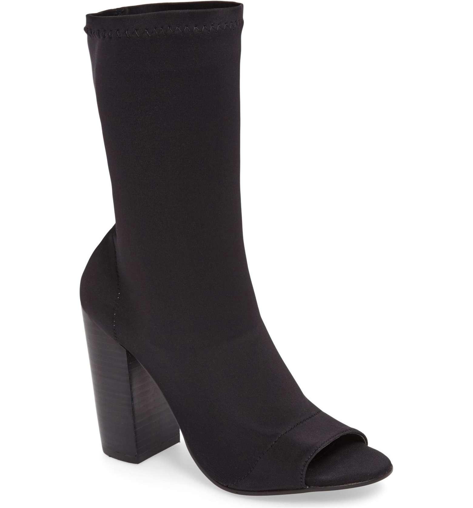 Malo Open Toe Stretch Sock Boot Tony Bianco | Izzy Wears Blog