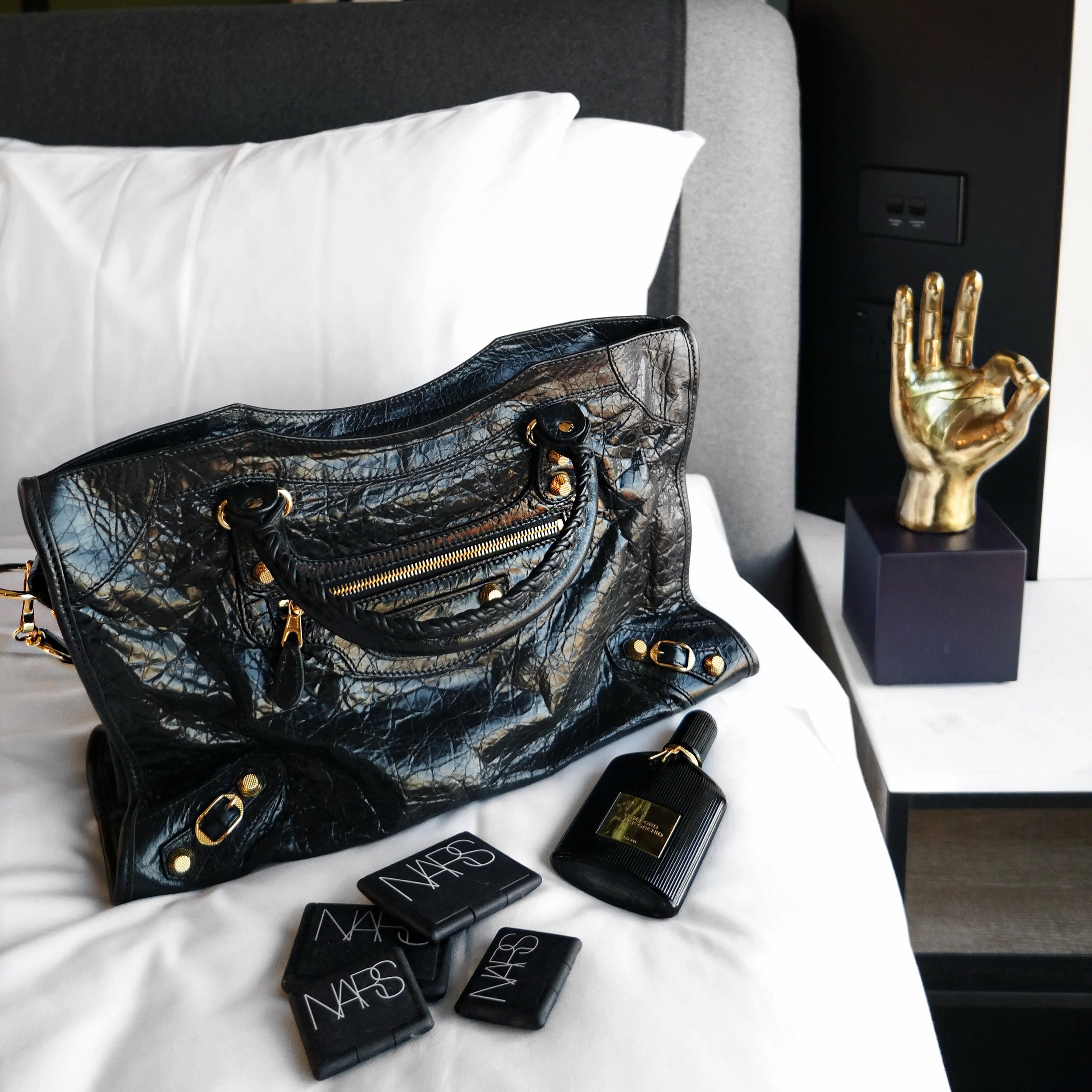 Balenciaga Motorcycle Bag Cosette at Tribe Hotels West Perth | Izzy Wears Blog