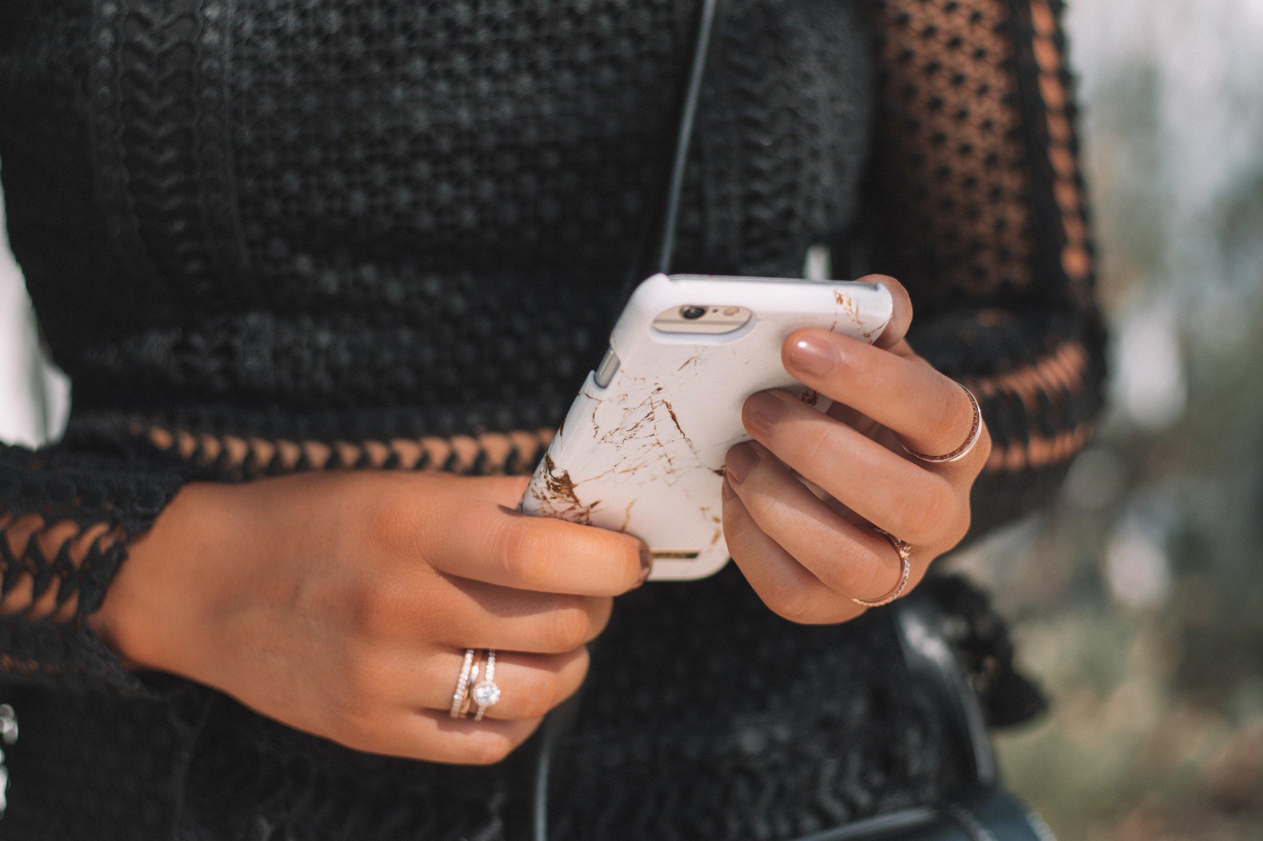 iDeal Sweden Marble Phone Case 1 - Izzy Wears Blog