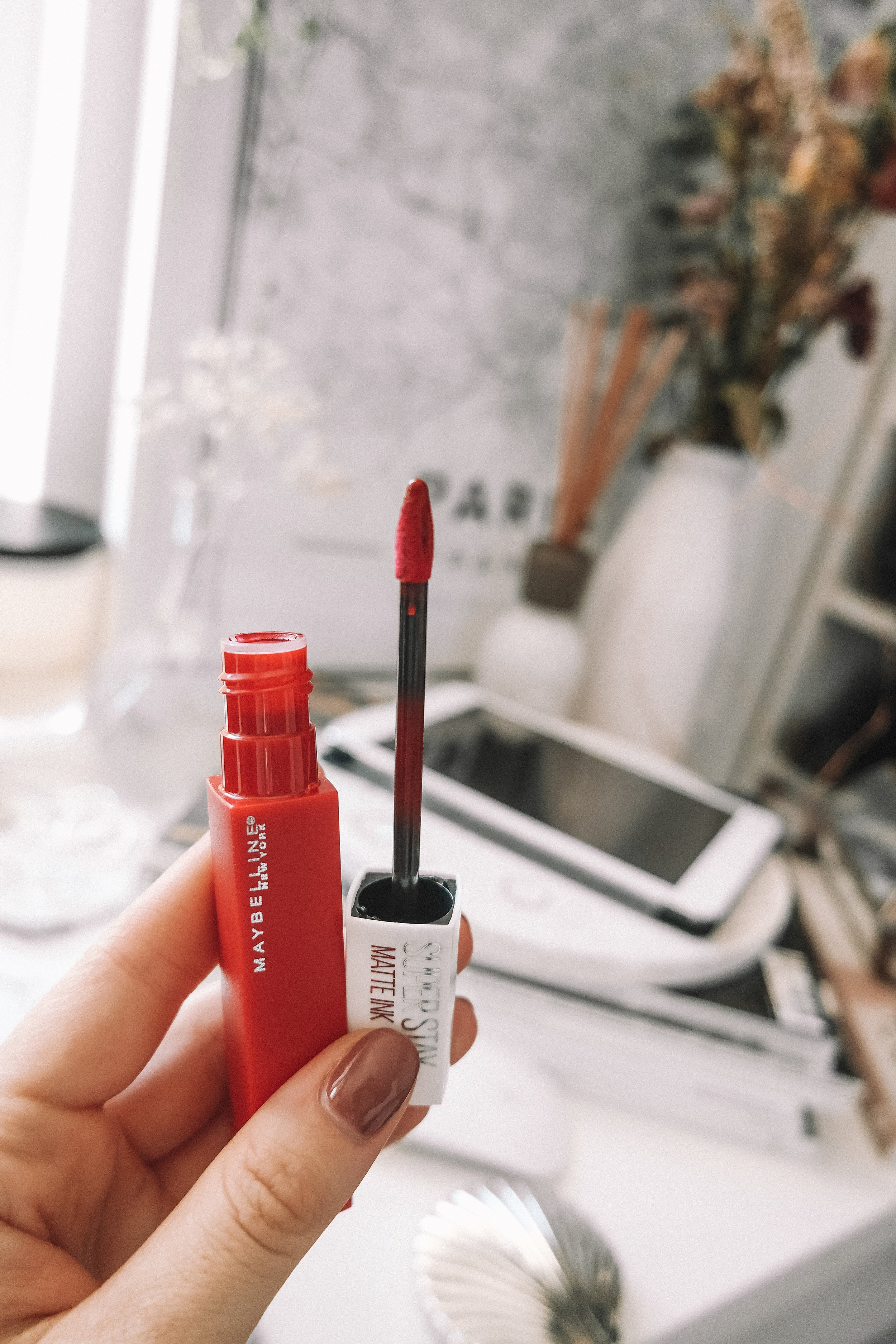 Maybelline SuperStay Lipstick Review_2