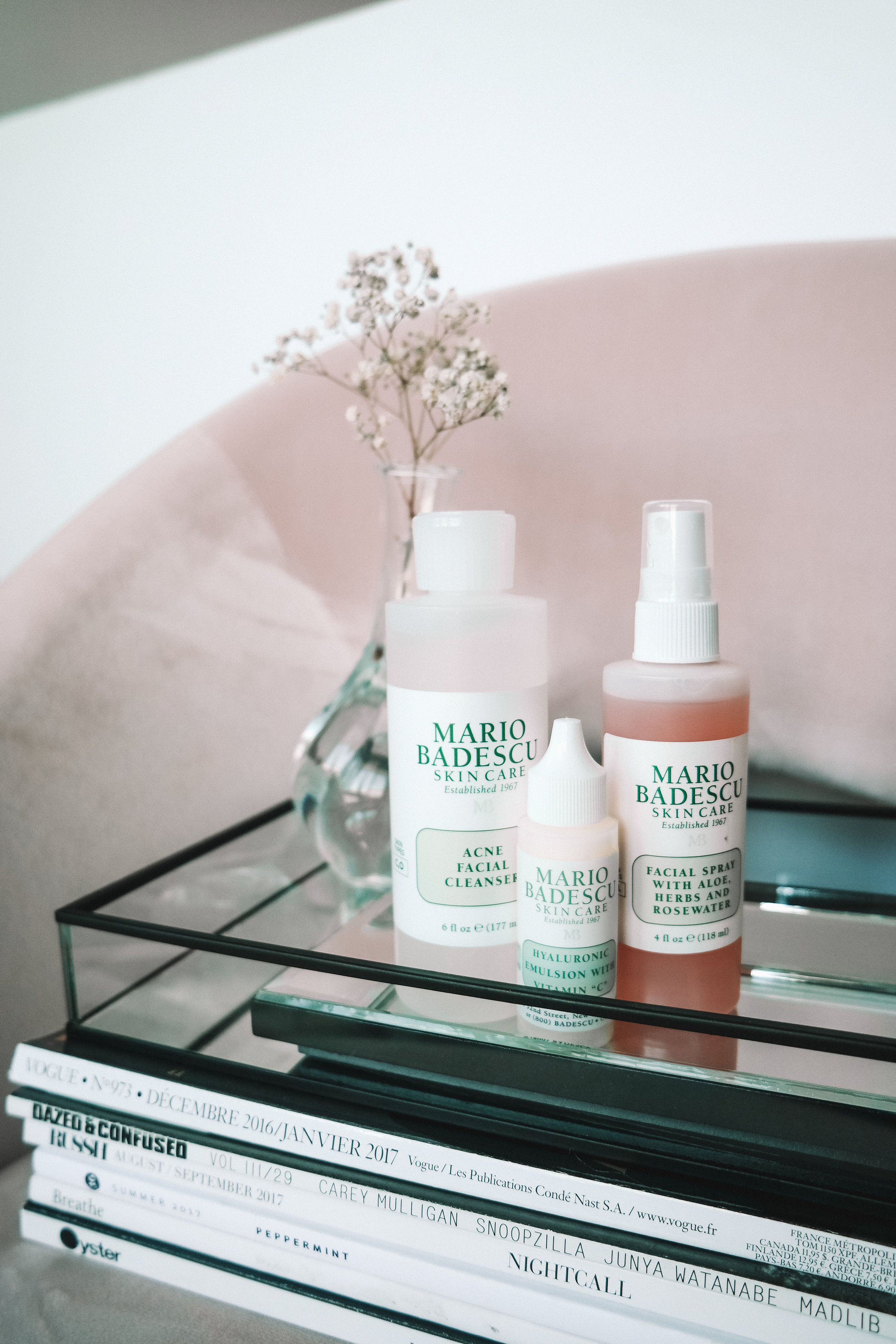 Mario Badescu Review Rosewater Facial Spray And Acne Wash