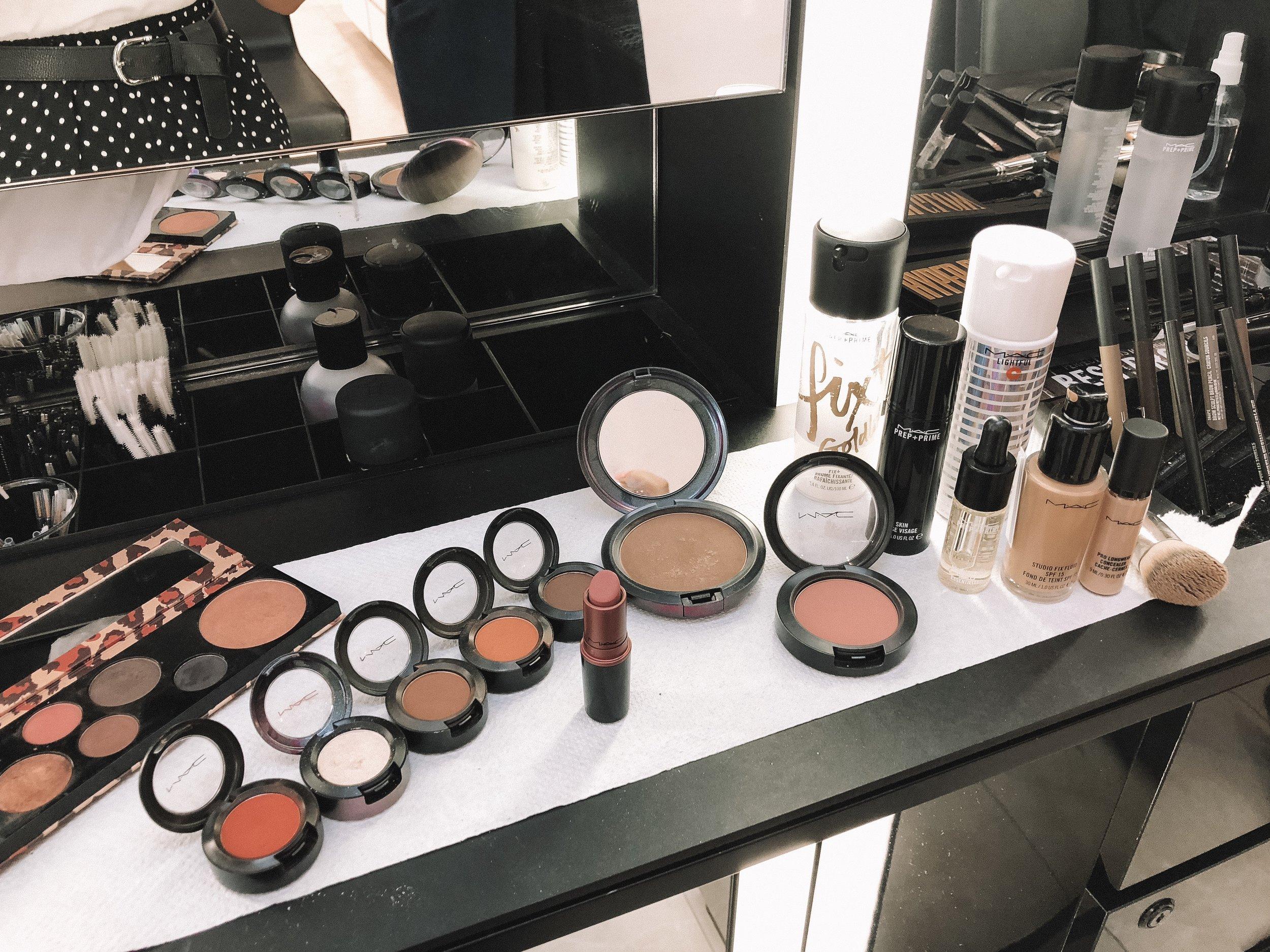 Mac Makeup Essentials