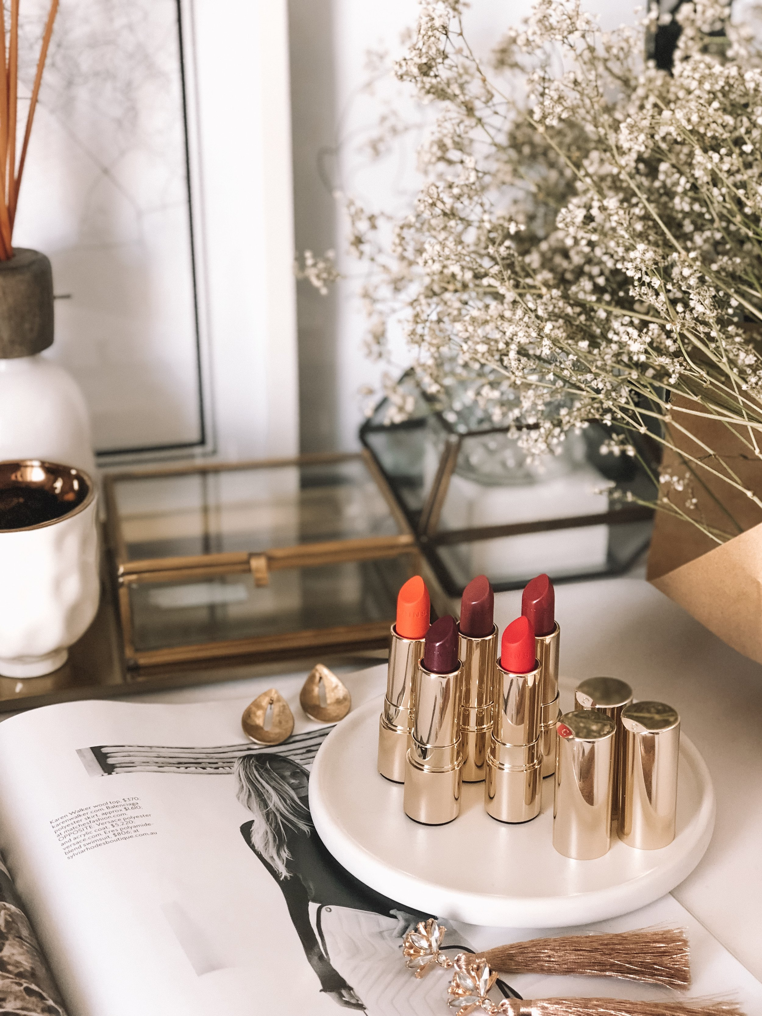 Clarins Joli Rouge Lipstick Shades