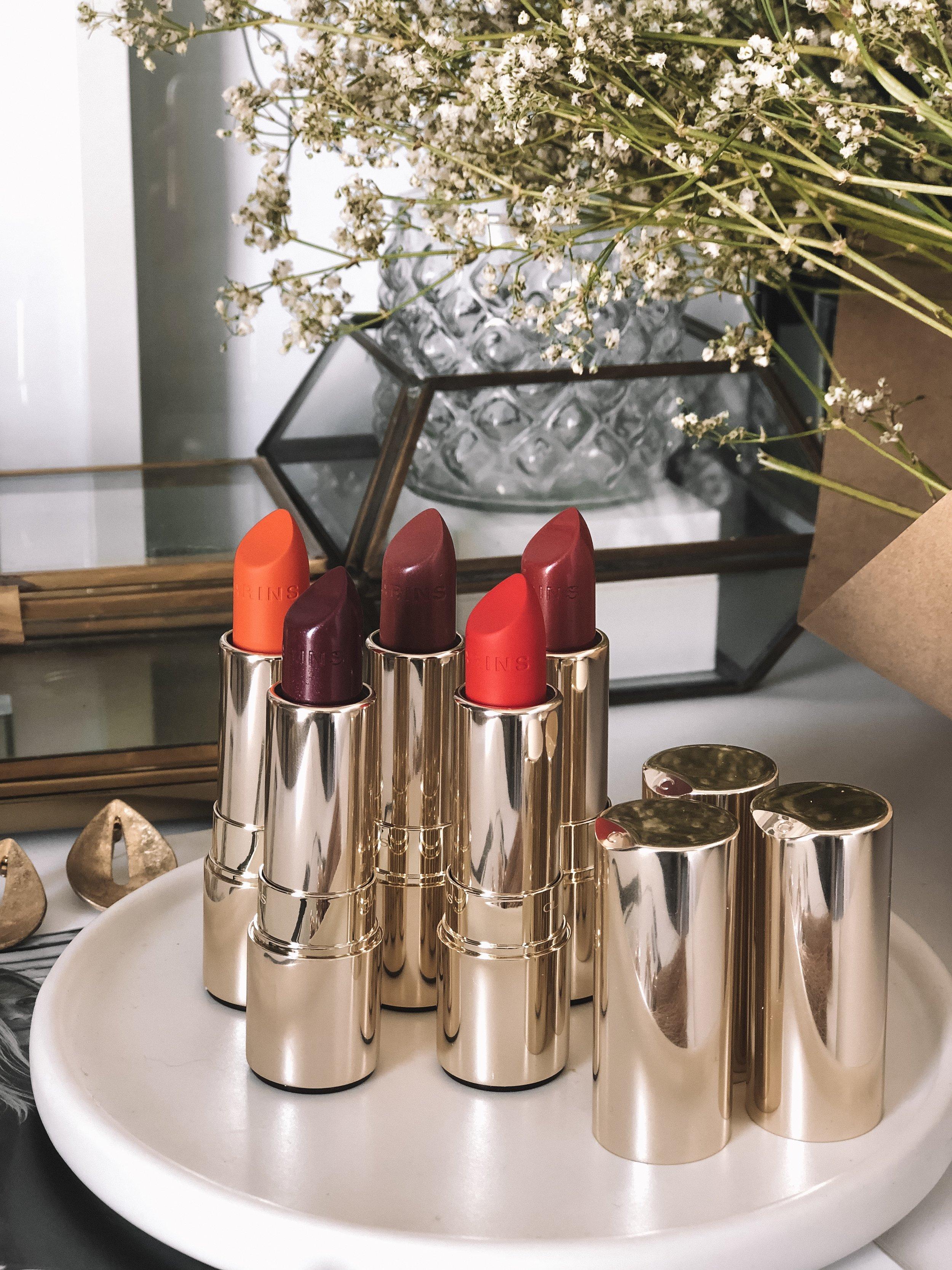 Clarins Joli Rouge Lipstick Colours
