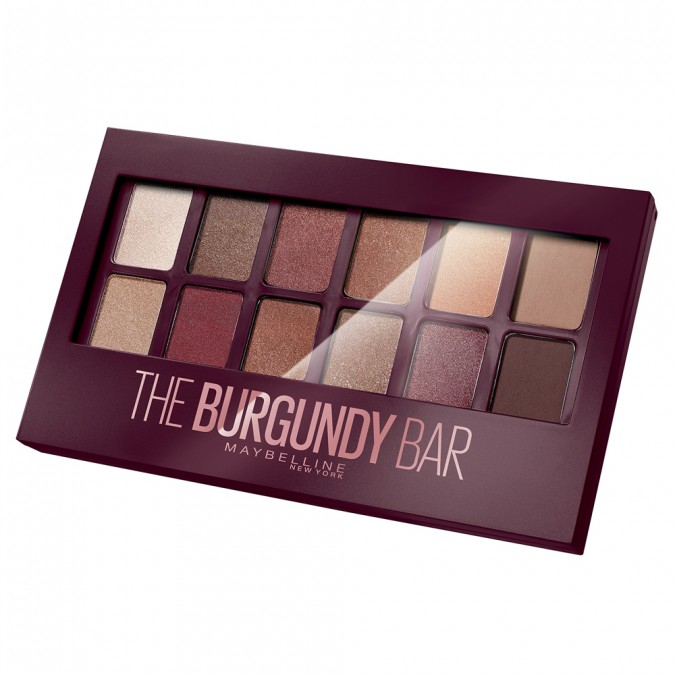 MAYBELLINE - The Burgundy Bar Eyeshadow Palette - Was $26.95, now $13.47.