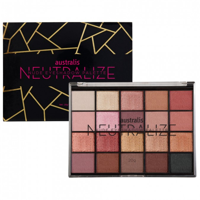 AUSTRALIS - Neutralize Nude Eyeshadow Palette - Was $24.95, now $12.47.