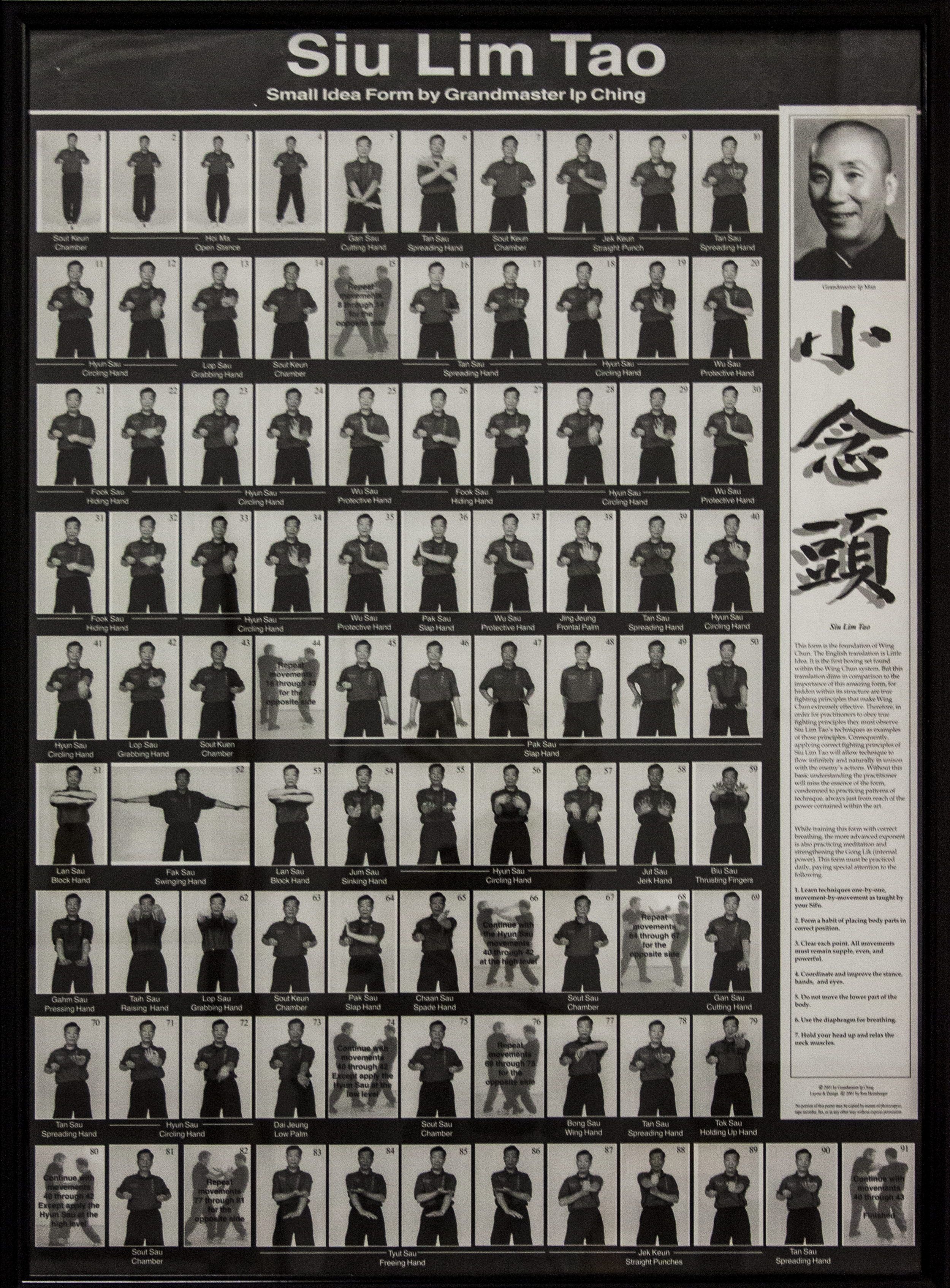 Click to enlarge the Set by Ip man