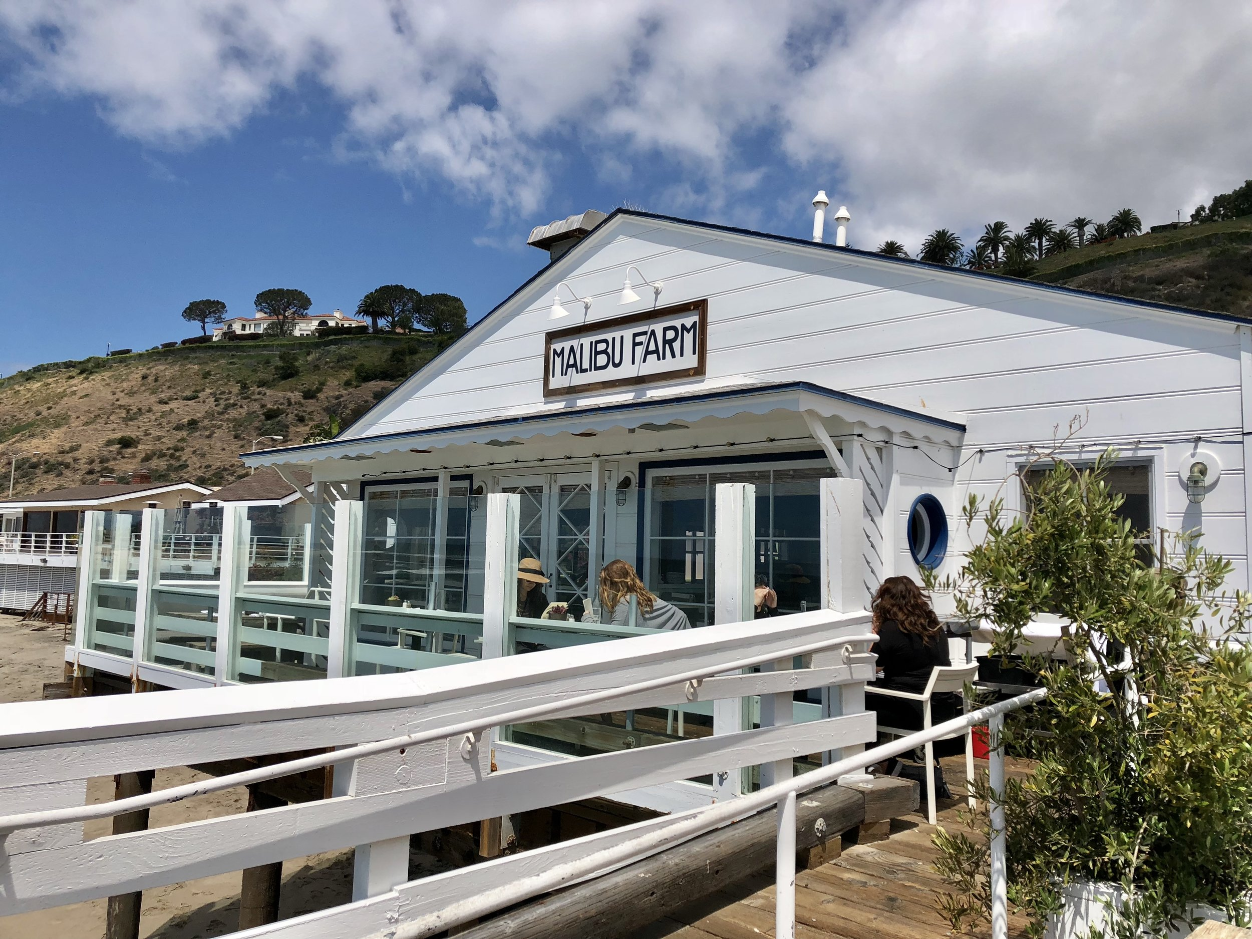 Malibu Farms Restaurant (I went to the cafe)