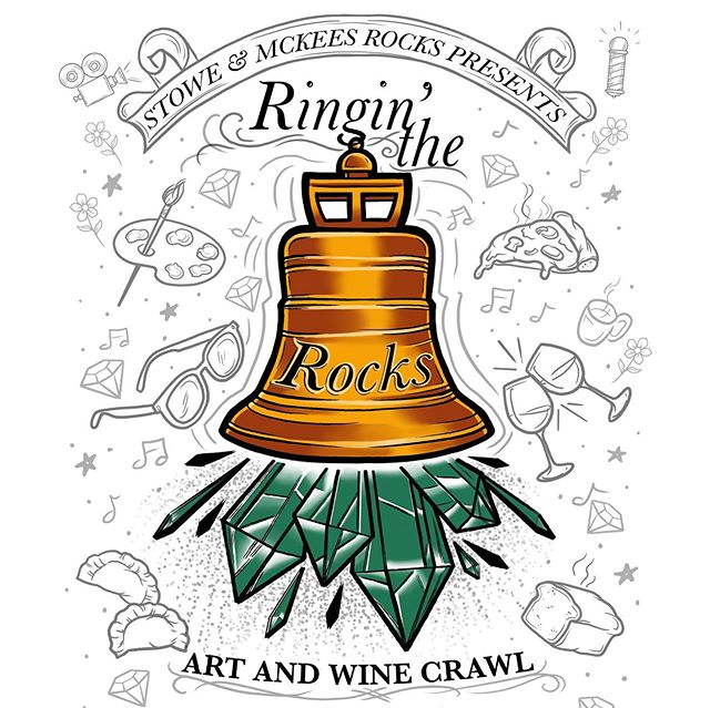 We are amping up for June 7th @ringintherocks crawl brought to ya by @cdcrocks! We warmly welcome you to our home 🏡 💕 come see the rich and diverse collection of artists, musicians, businesses, crafts people and vendors Sto-Rox has to offer! Swipe for a list of 13 locations in over 20 pop ups from the local area! See yinz there!💕