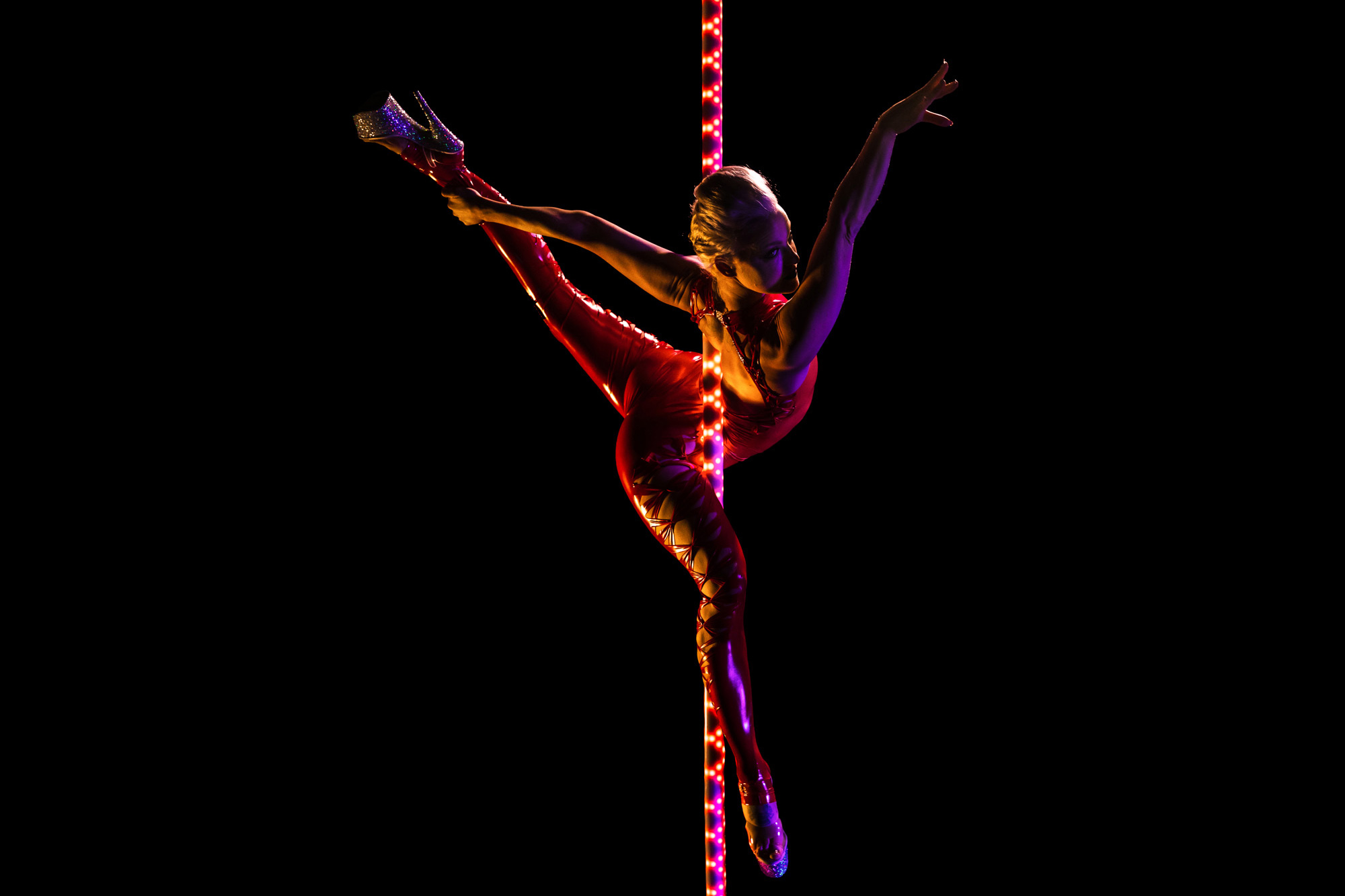 PoleFX LED Dance Pole 1
