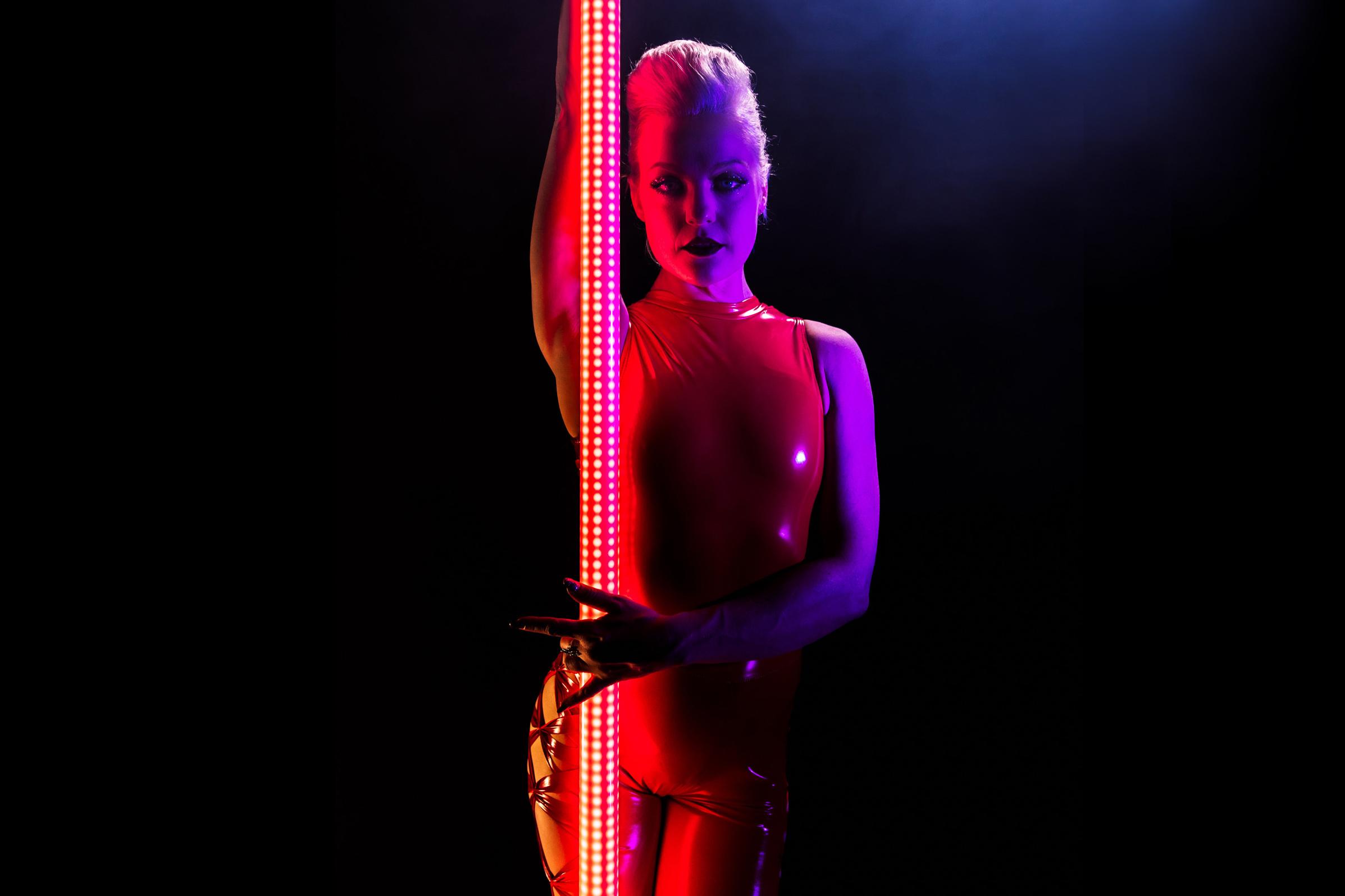 PoleFX LED Dance Pole 4