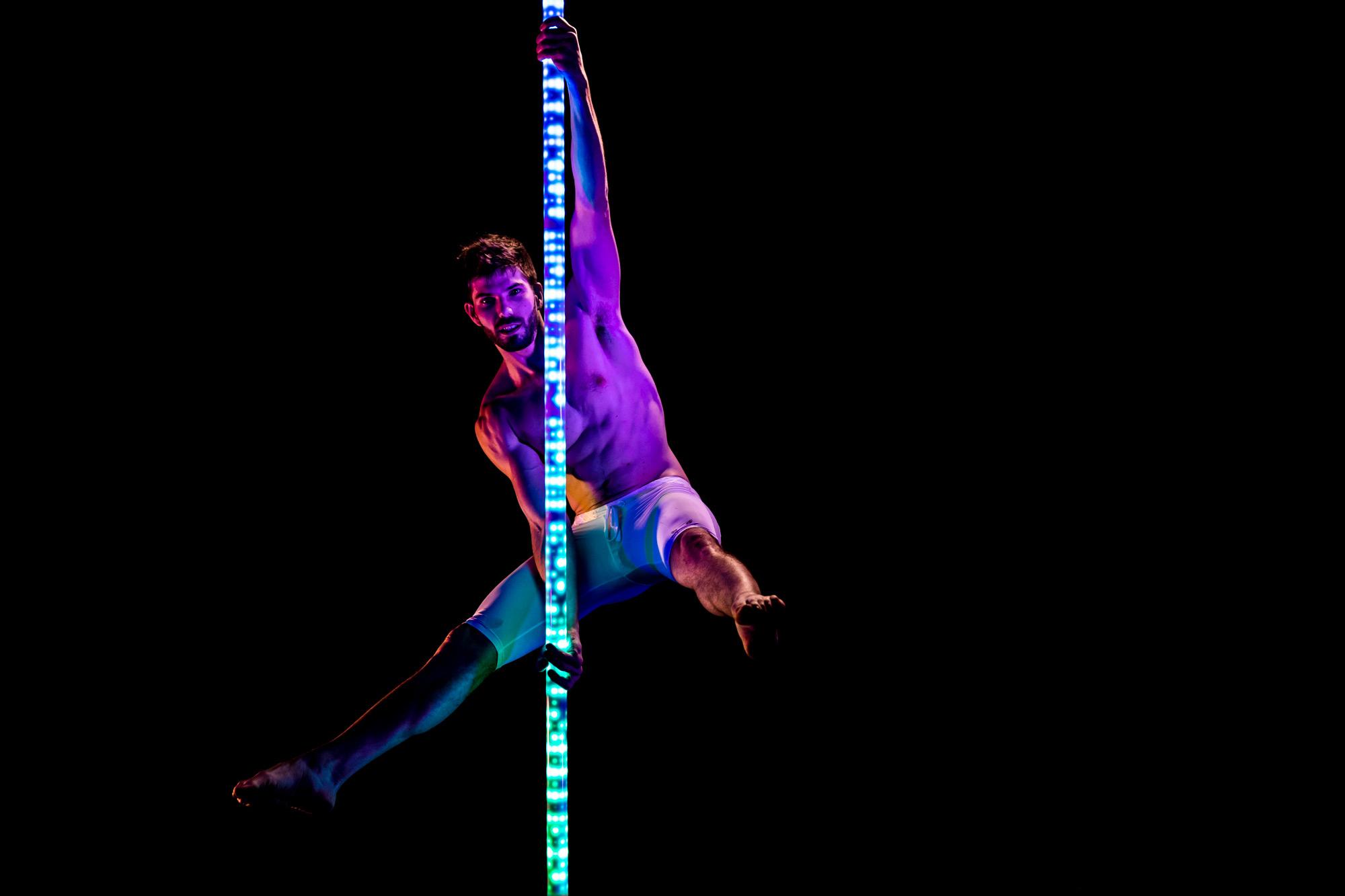 PoleFX LED Dance Pole 8