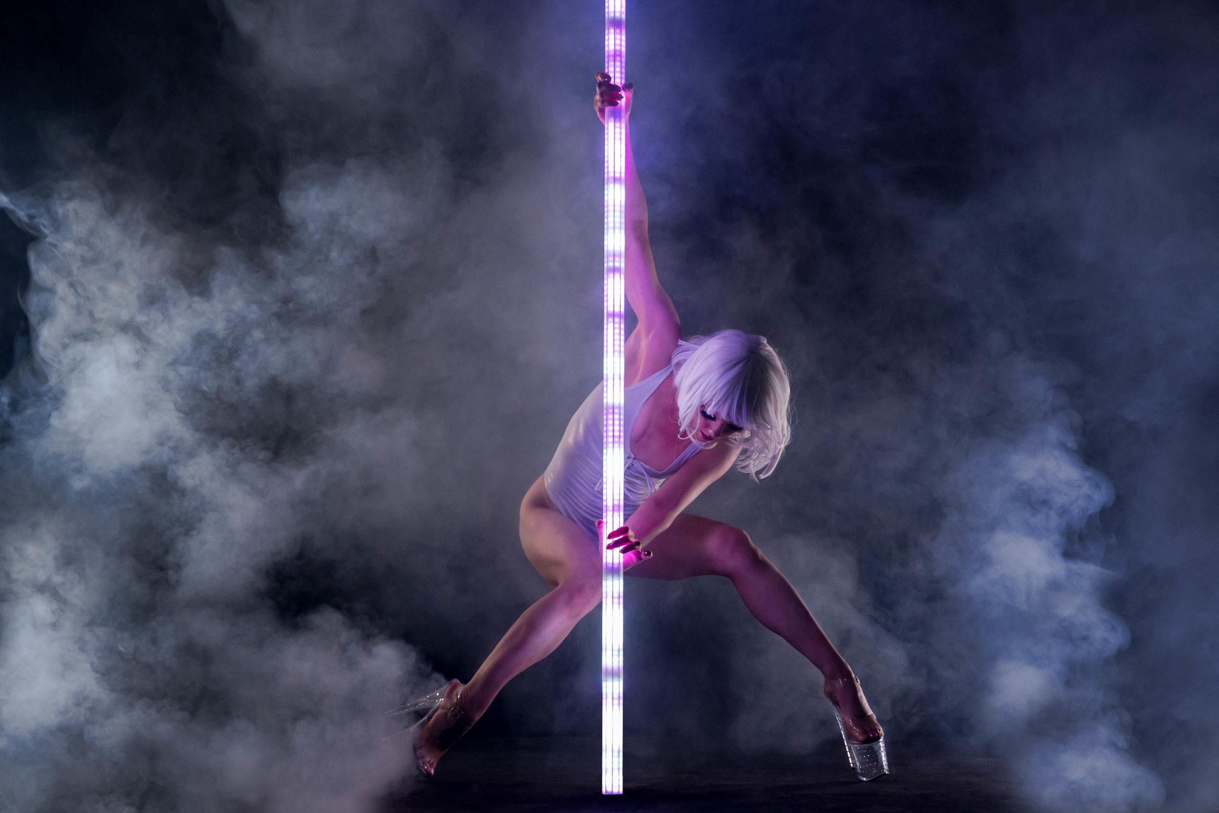 PoleFX LED Dance Pole 7