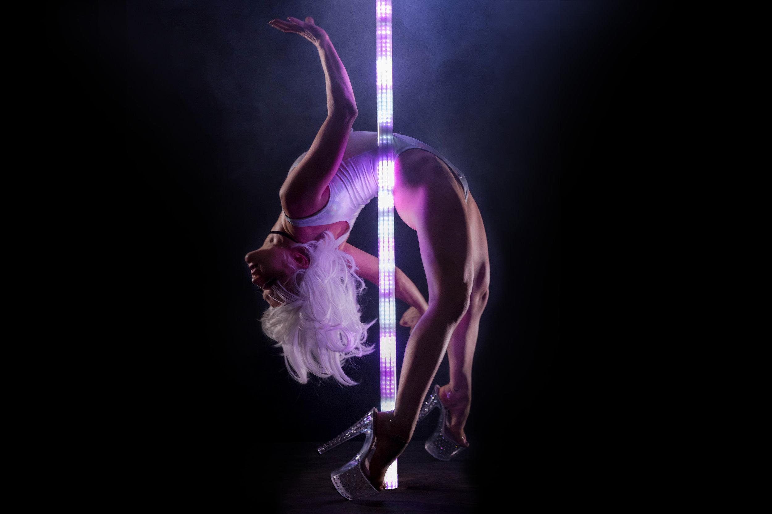 PoleFX LED Dance Pole 11