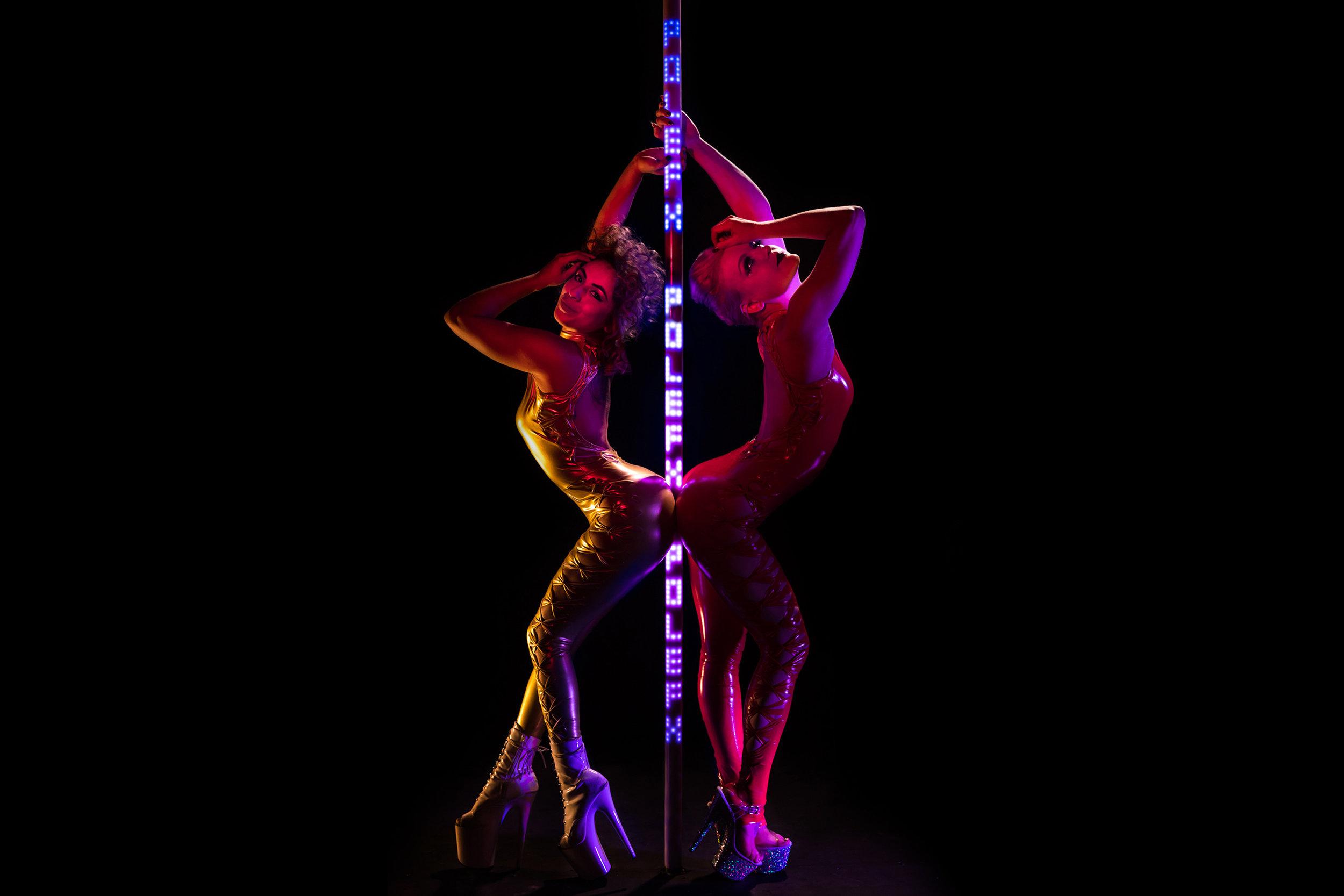 PoleFX LED Dance Pole 17