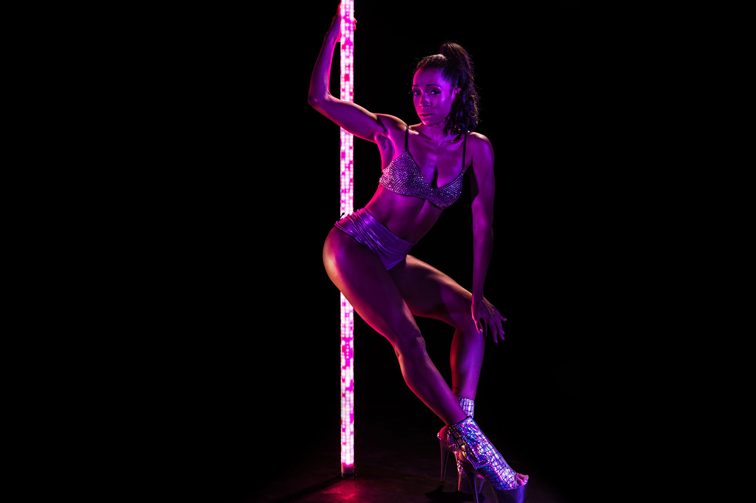PoleFX LED Dance Pole 19