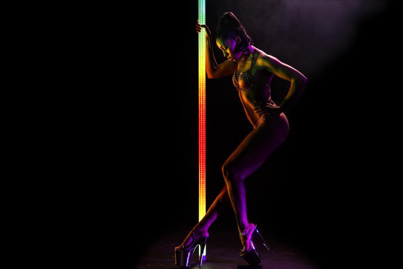 PoleFX LED Dance Pole 20