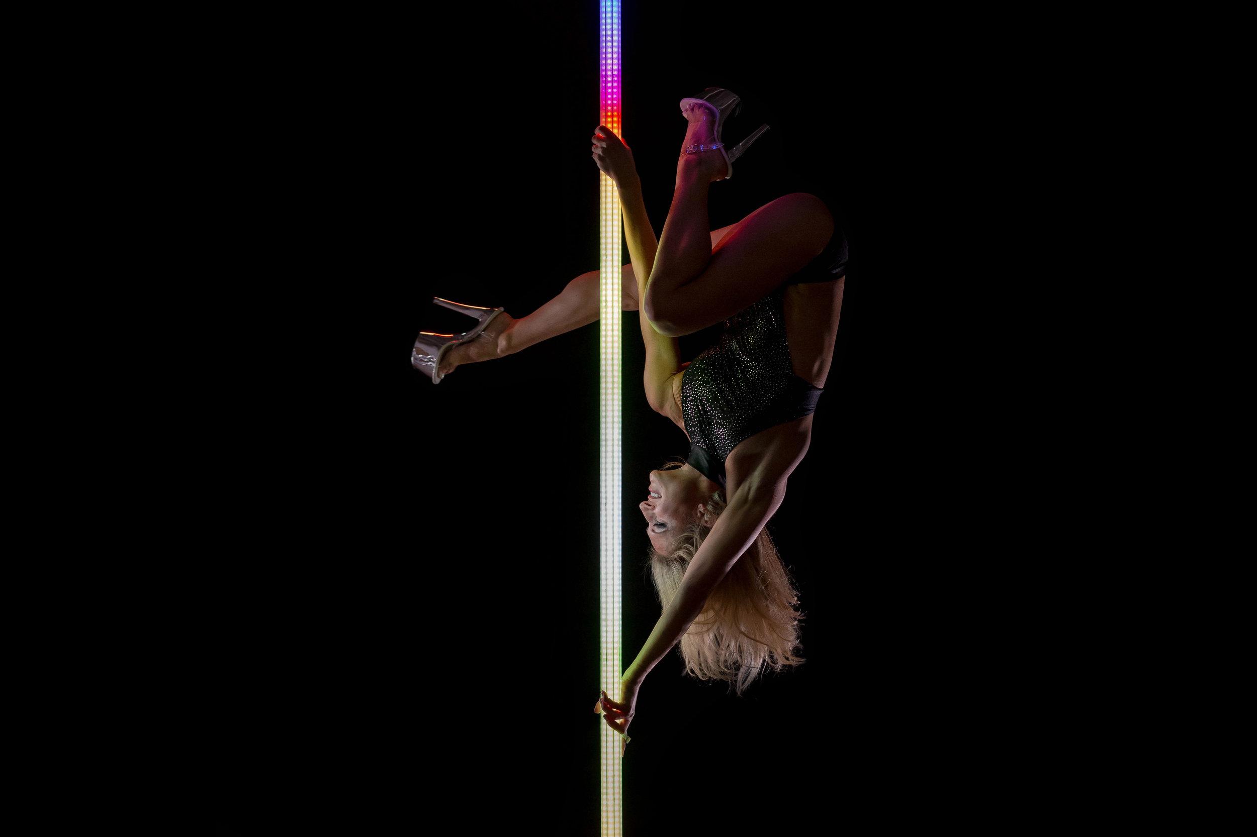 PoleFX LED Dance Pole 22