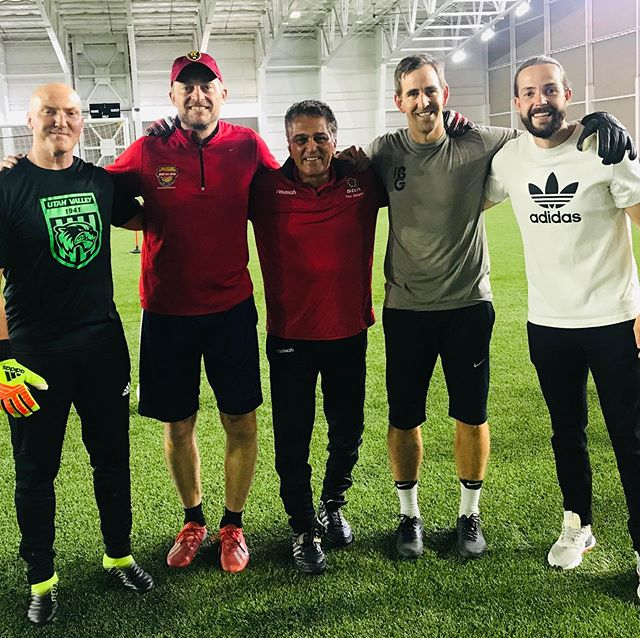 Amazing 2 days training Utah keepers along side professional colleagues #Todd Hoffard, #Greg Maas and #Brandon Gilliam. We witnessed dramatic improvement!