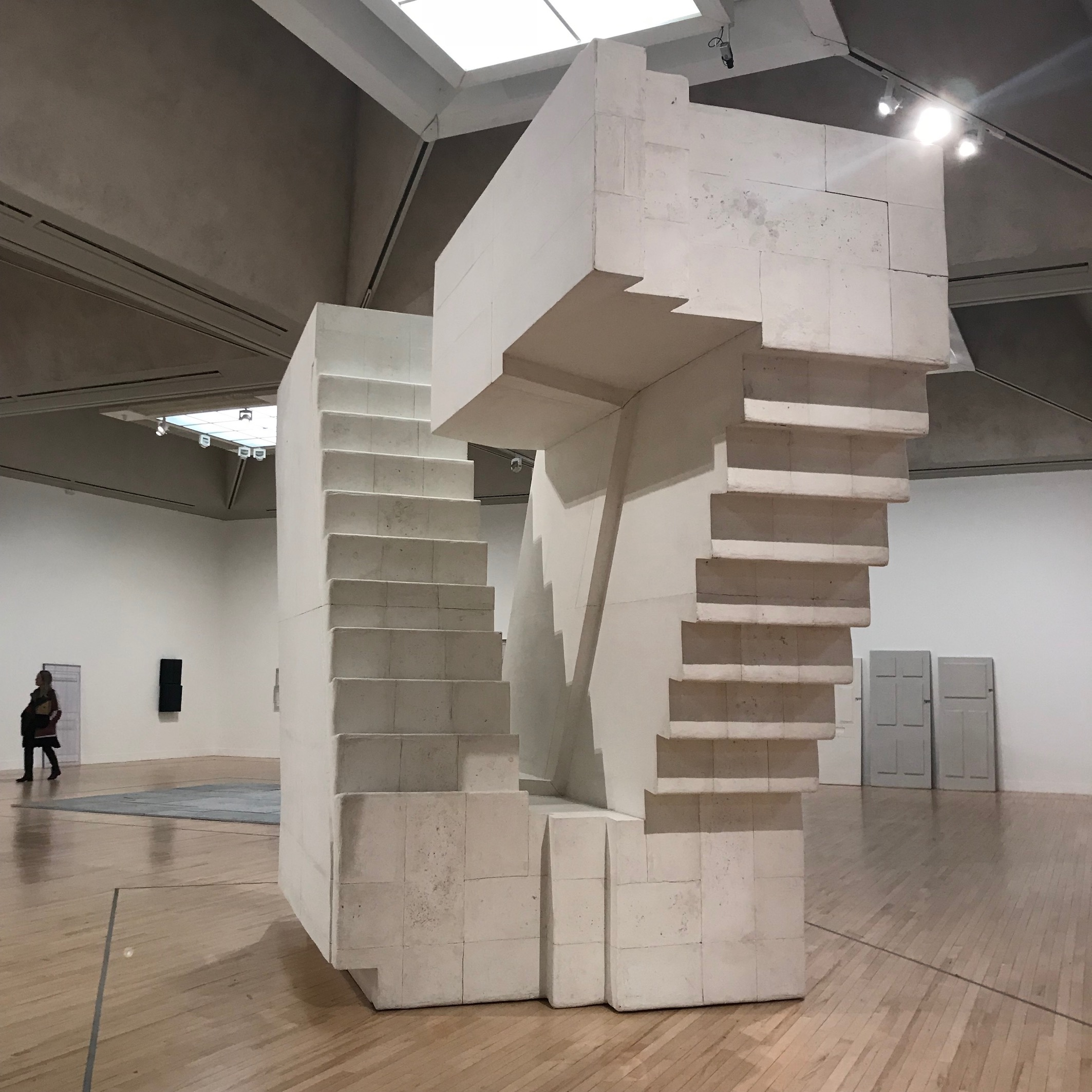 Untitled (Stairs),    2001