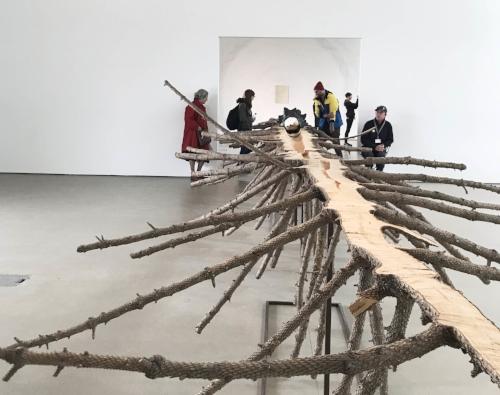 Matrice (Matrix)  2015 Fir tree wood and bronze