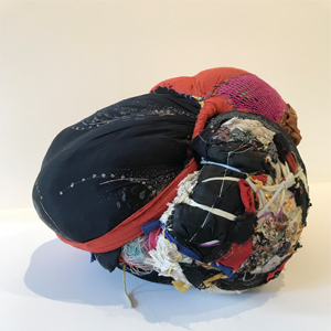Trouxa  (stitching, moorings, different fabrics and laces) 2004