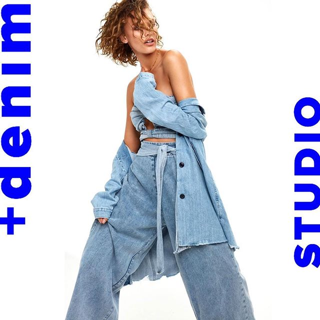 This babe 🙌🏼 +denim STUDIO #doubledenim #canadiantuxedo #campaign #denim #fashion #editorial #editorialphotography #fashioneditorial #fashionphotography #fashionphotographer #clairewallman #models #womensfashion #beauty @mlm_label @levis_anz