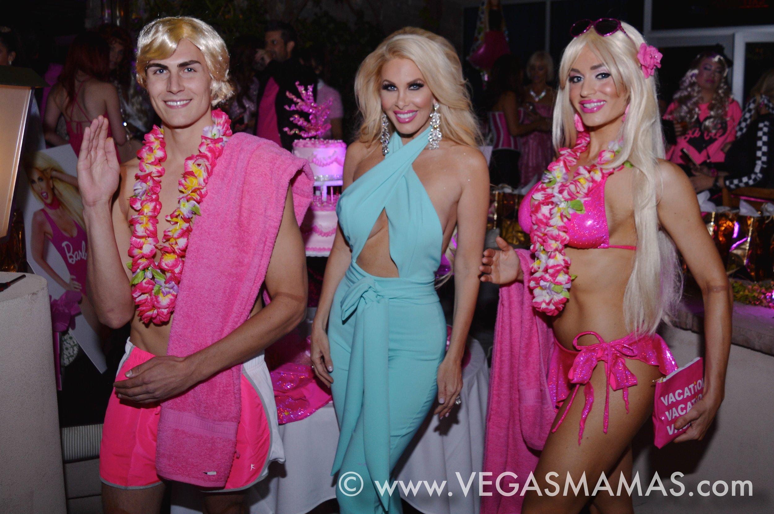 Amanda Kouretas Barbie Party