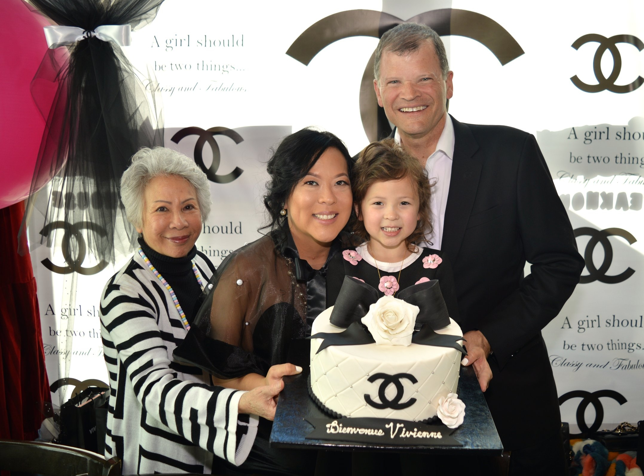 """Three generations captured at once. As Gabrielle so eloquently said, """"A girl should be two things, classy & fabulous."""" Indeed, these three generations are fulfilling that mantra."""