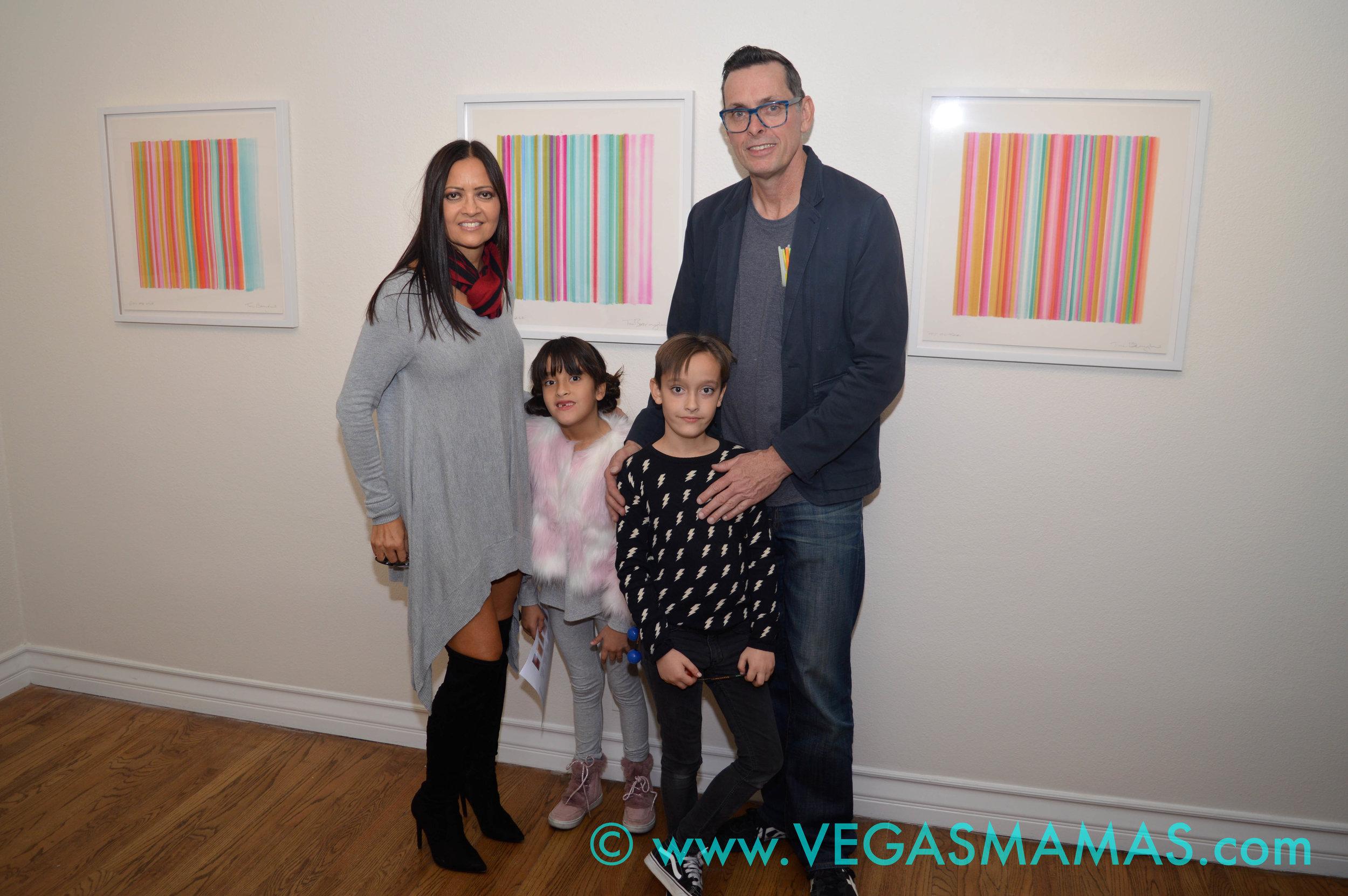 #BavBabe Kim Bavington & Tim Bavington with their twins Lily & Jet