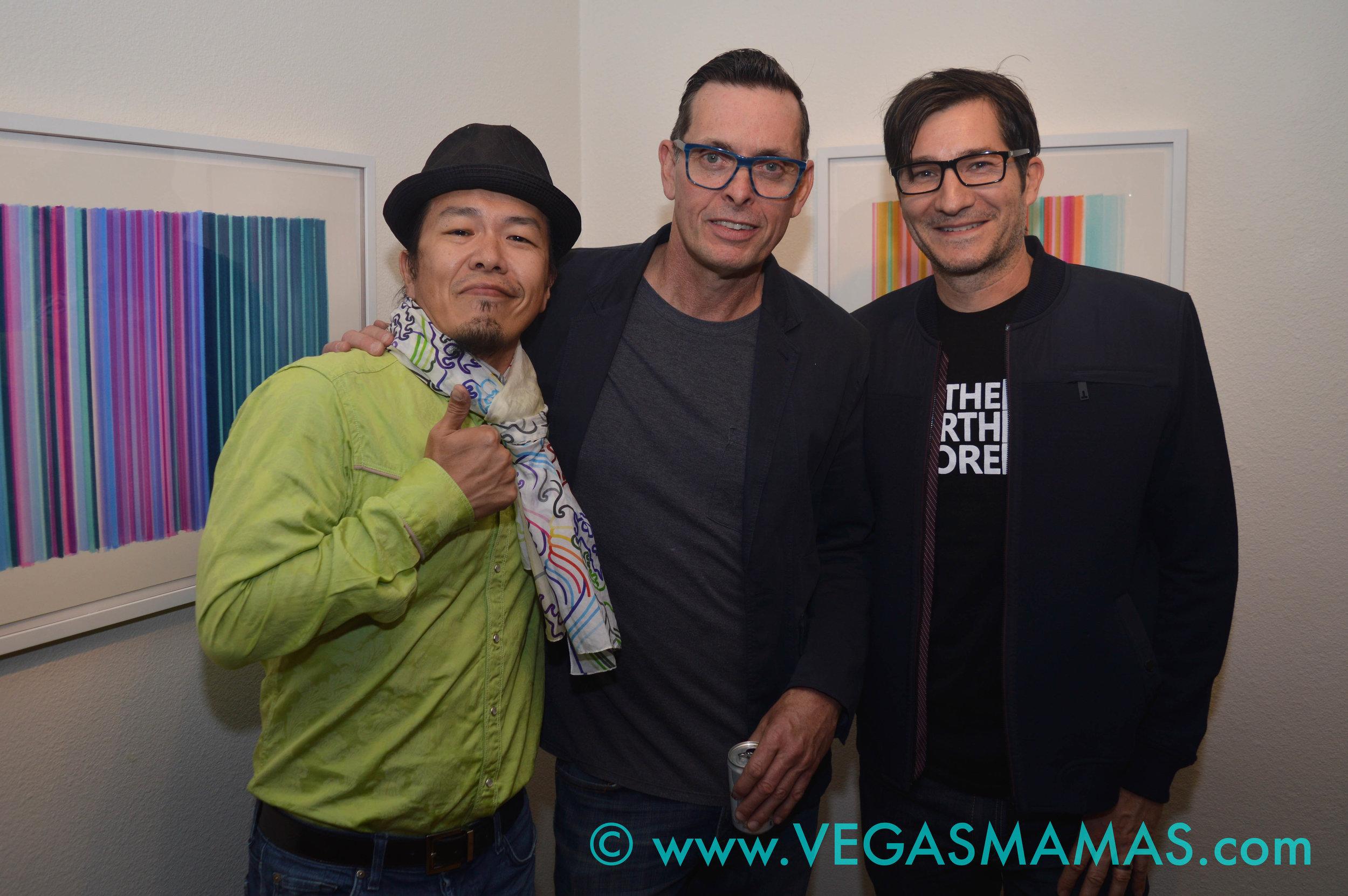 Sush Machida, Tim Bavington and David Ryan
