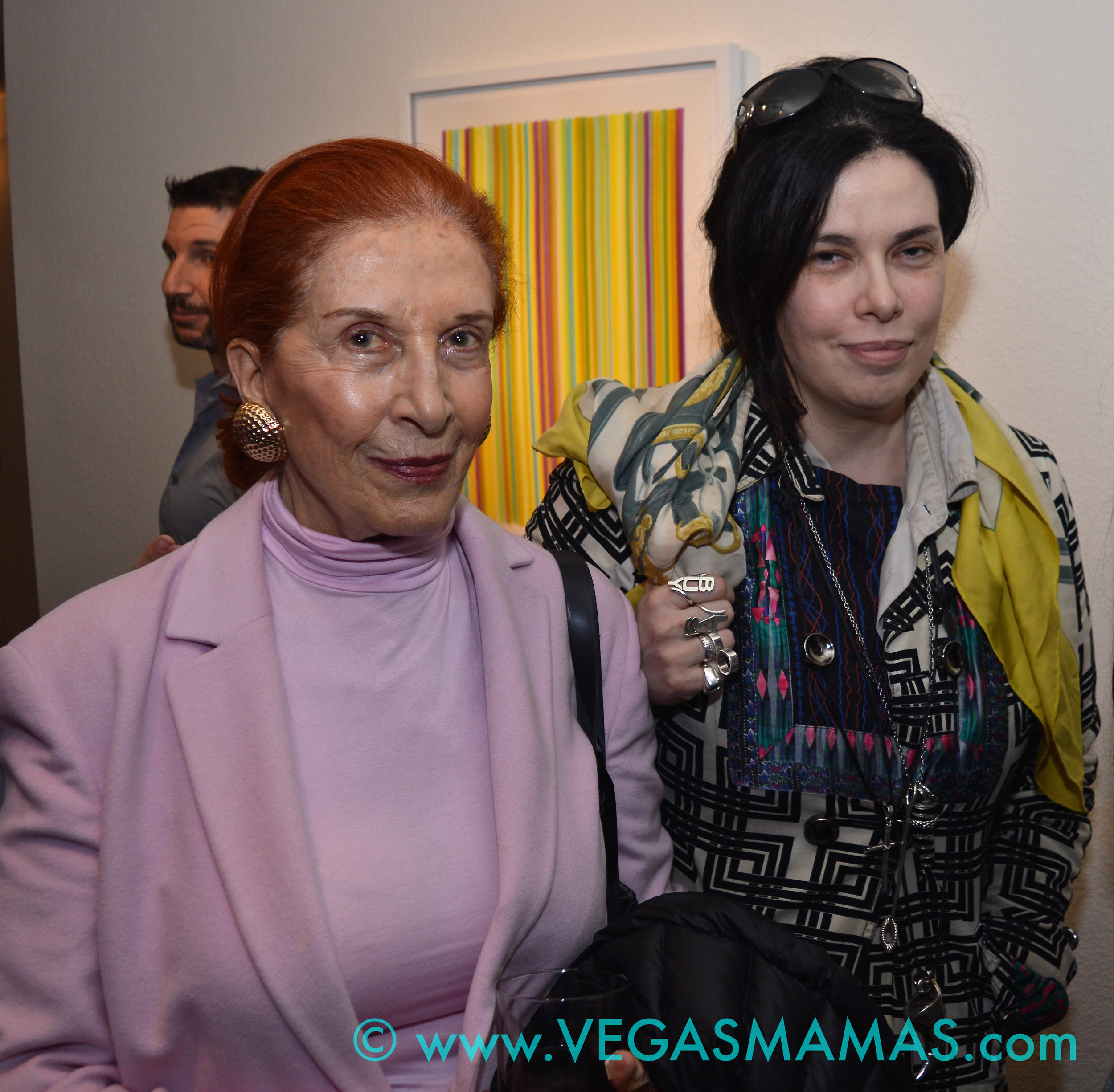 Marina Pignatelli and daughter Benedetta Pignatelli